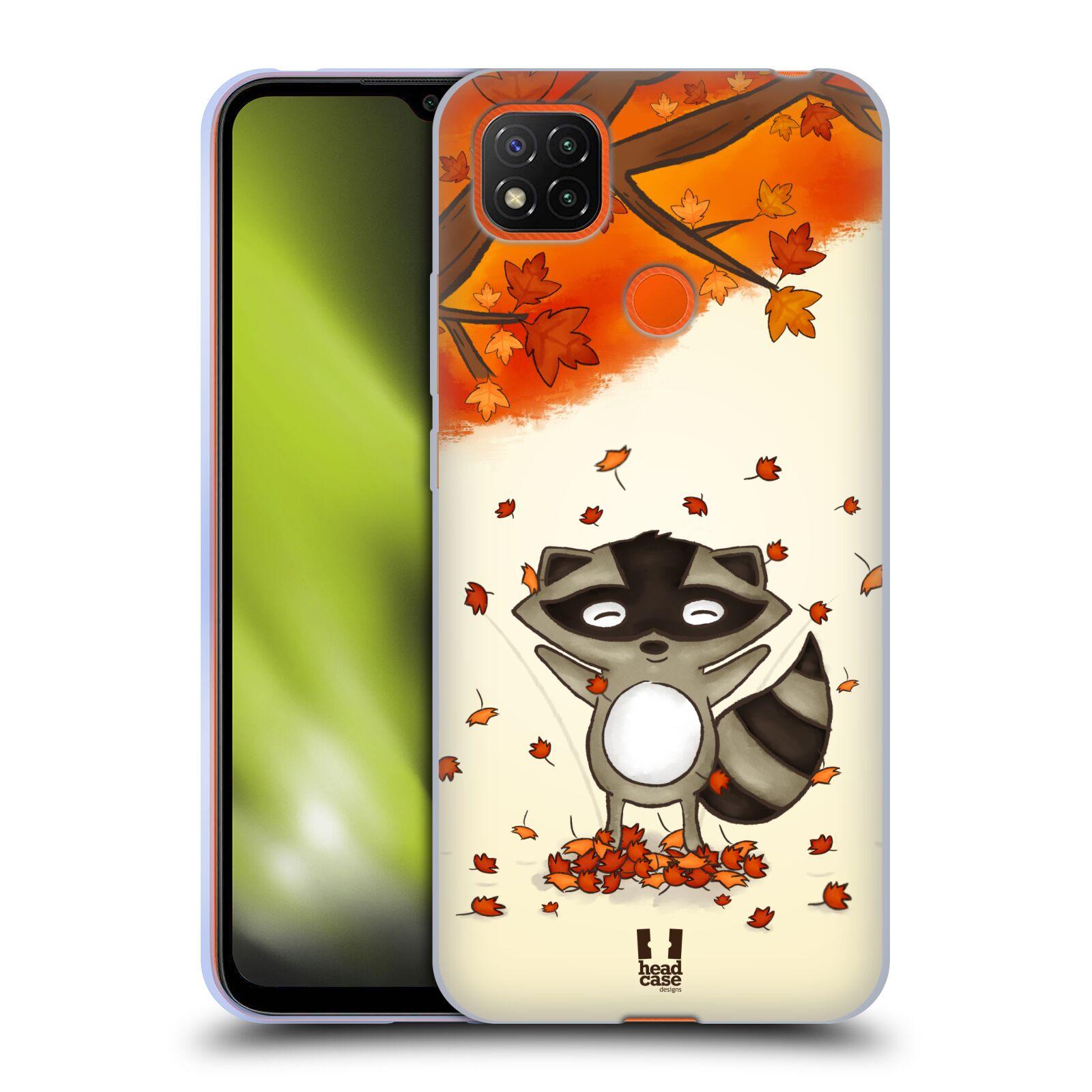 Silikonové pouzdro na mobil Xiaomi Redmi 9C - Head Case - PODZIMNÍ MÝVAL