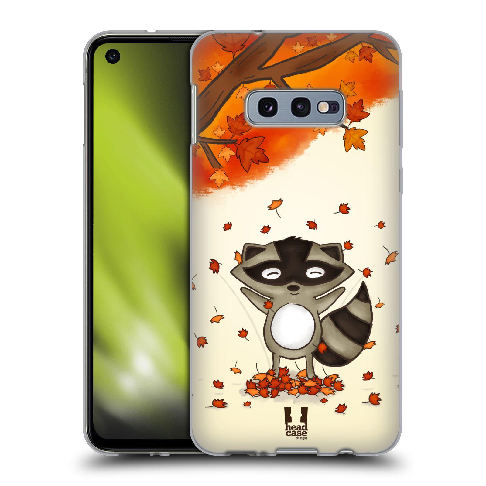 Silikonové pouzdro na mobil Samsung Galaxy S10e - Head Case - PODZIMNÍ MÝVAL