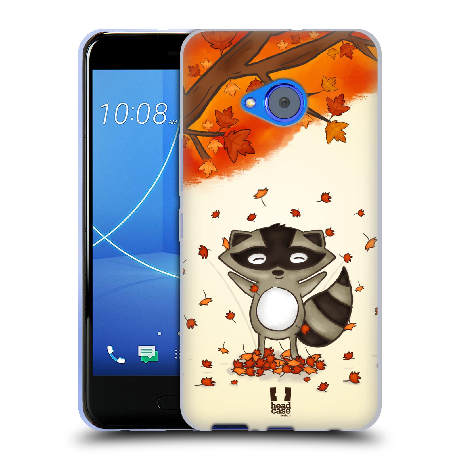 Silikonové pouzdro na mobil HTC U11 Life - Head Case - PODZIMNÍ MÝVAL