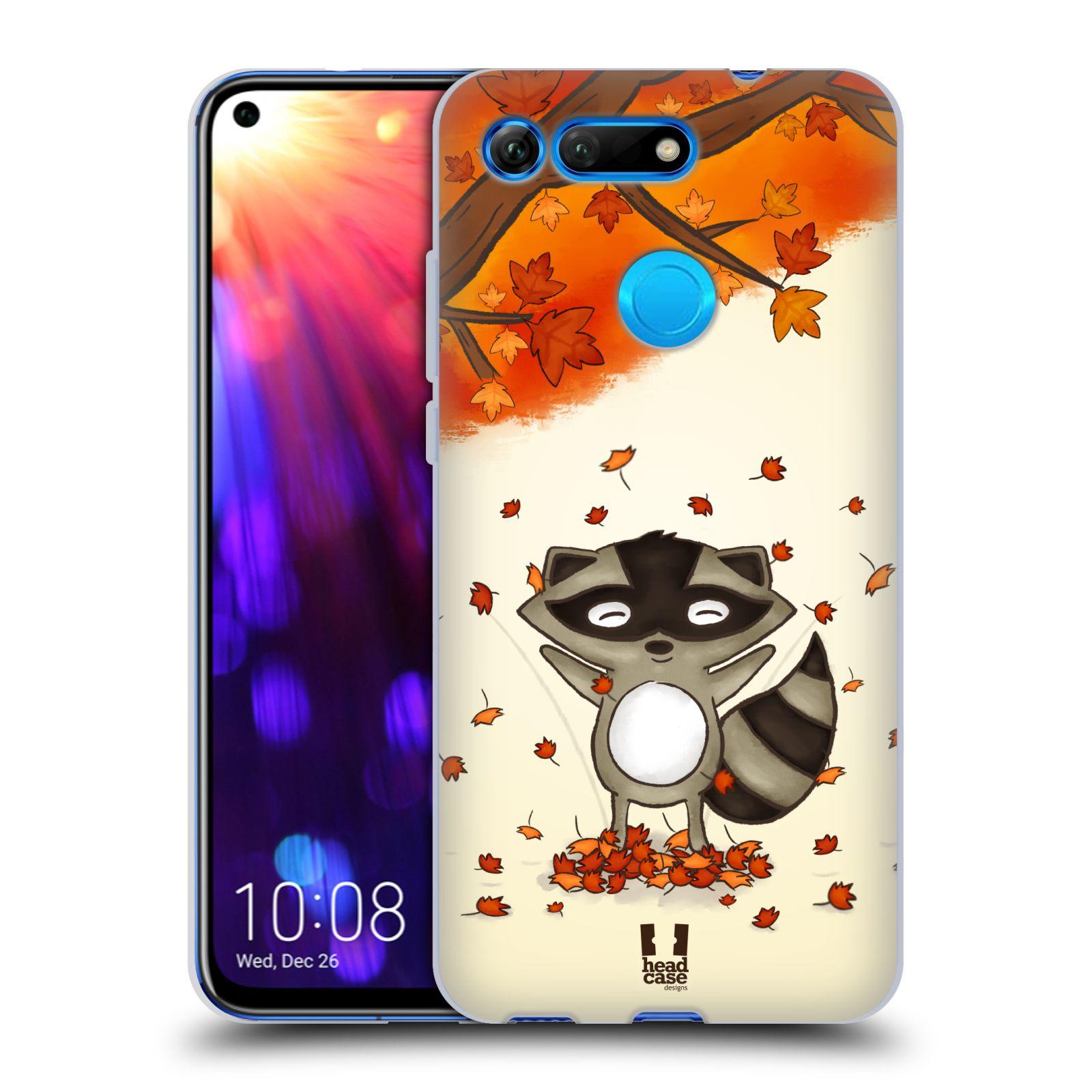 Silikonové pouzdro na mobil Honor View 20 - Head Case - PODZIMNÍ MÝVAL