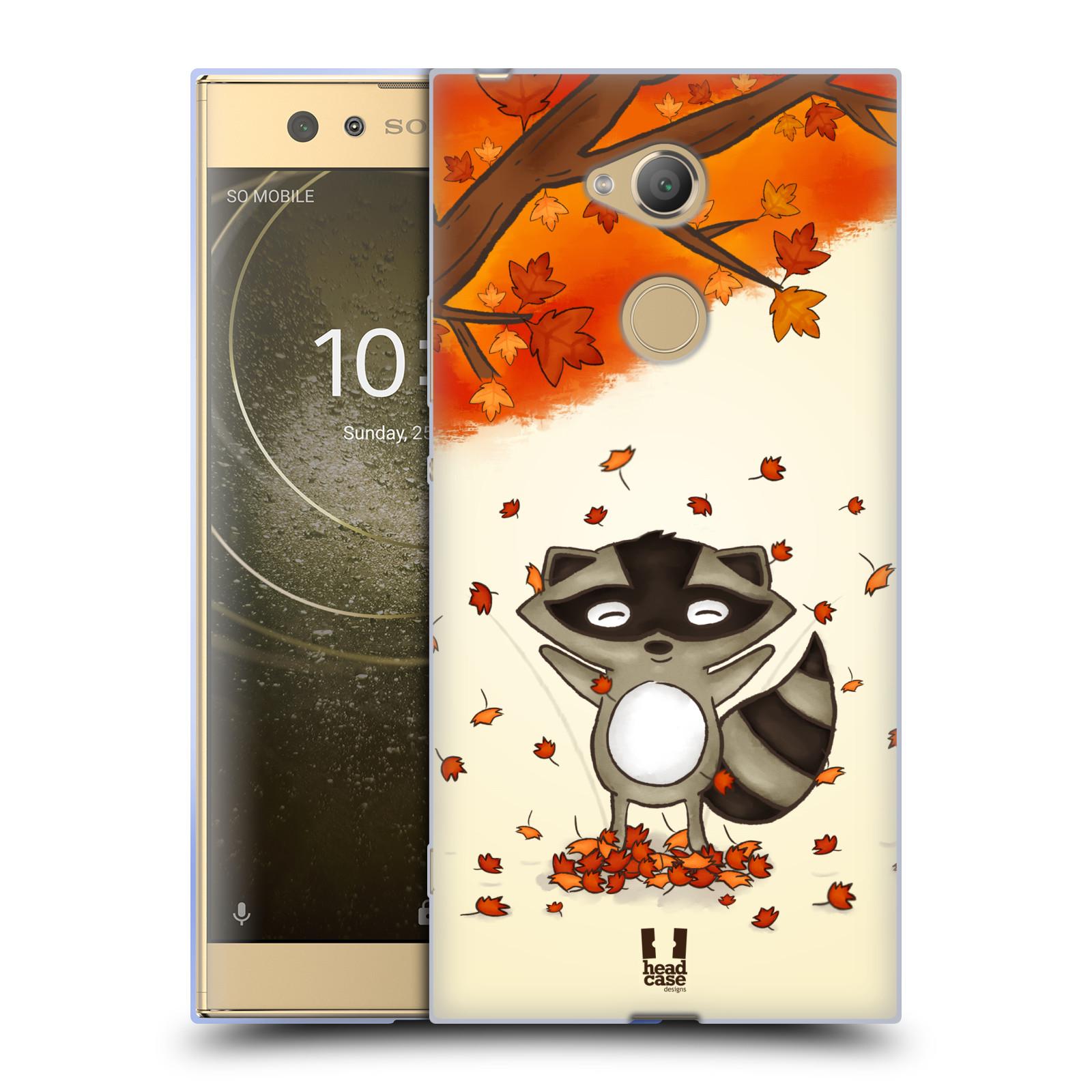 Silikonové pouzdro na mobil Sony Xperia XA2 Ultra - Head Case - PODZIMNÍ MÝVAL