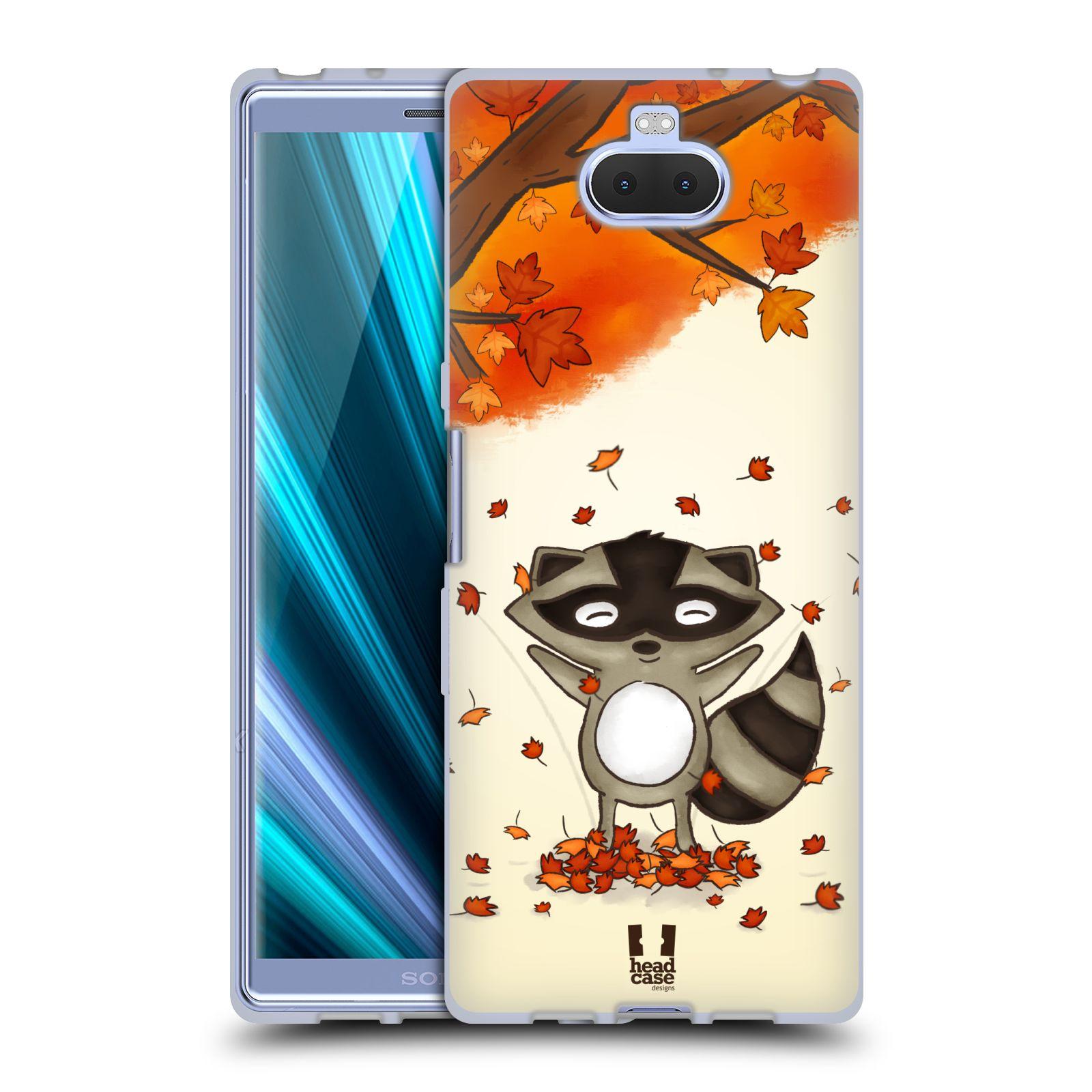 Silikonové pouzdro na mobil Sony Xperia 10 - Head Case - PODZIMNÍ MÝVAL