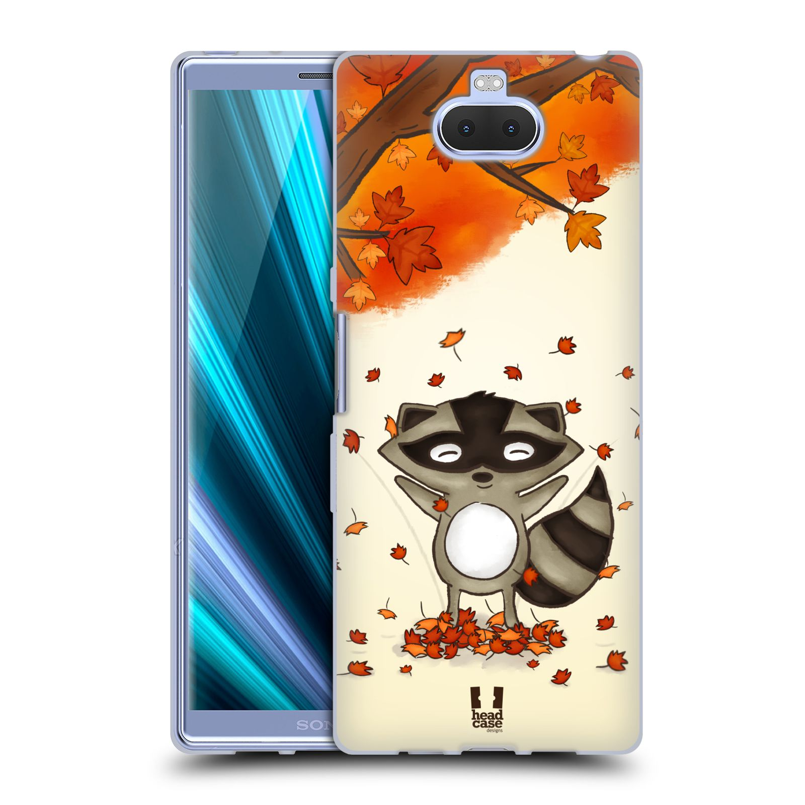 Silikonové pouzdro na mobil Sony Xperia 10 Plus - Head Case - PODZIMNÍ MÝVAL