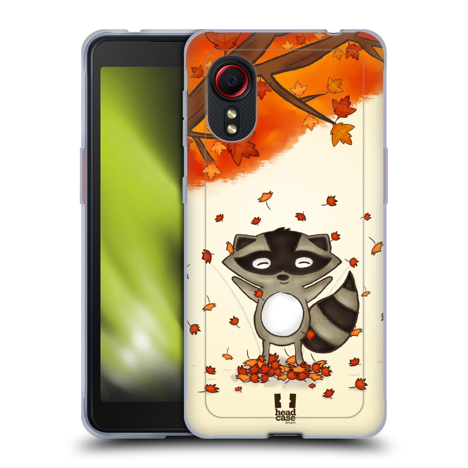 Silikonové pouzdro na mobil Samsung Galaxy Xcover 5 - Head Case - PODZIMNÍ MÝVAL