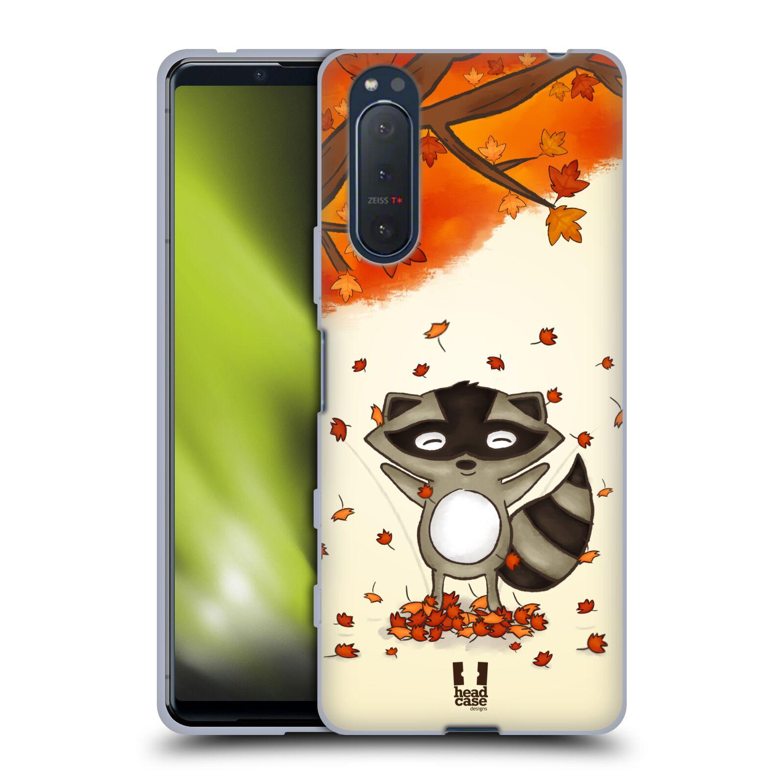 Silikonové pouzdro na mobil Sony Xperia 5 II - Head Case - PODZIMNÍ MÝVAL