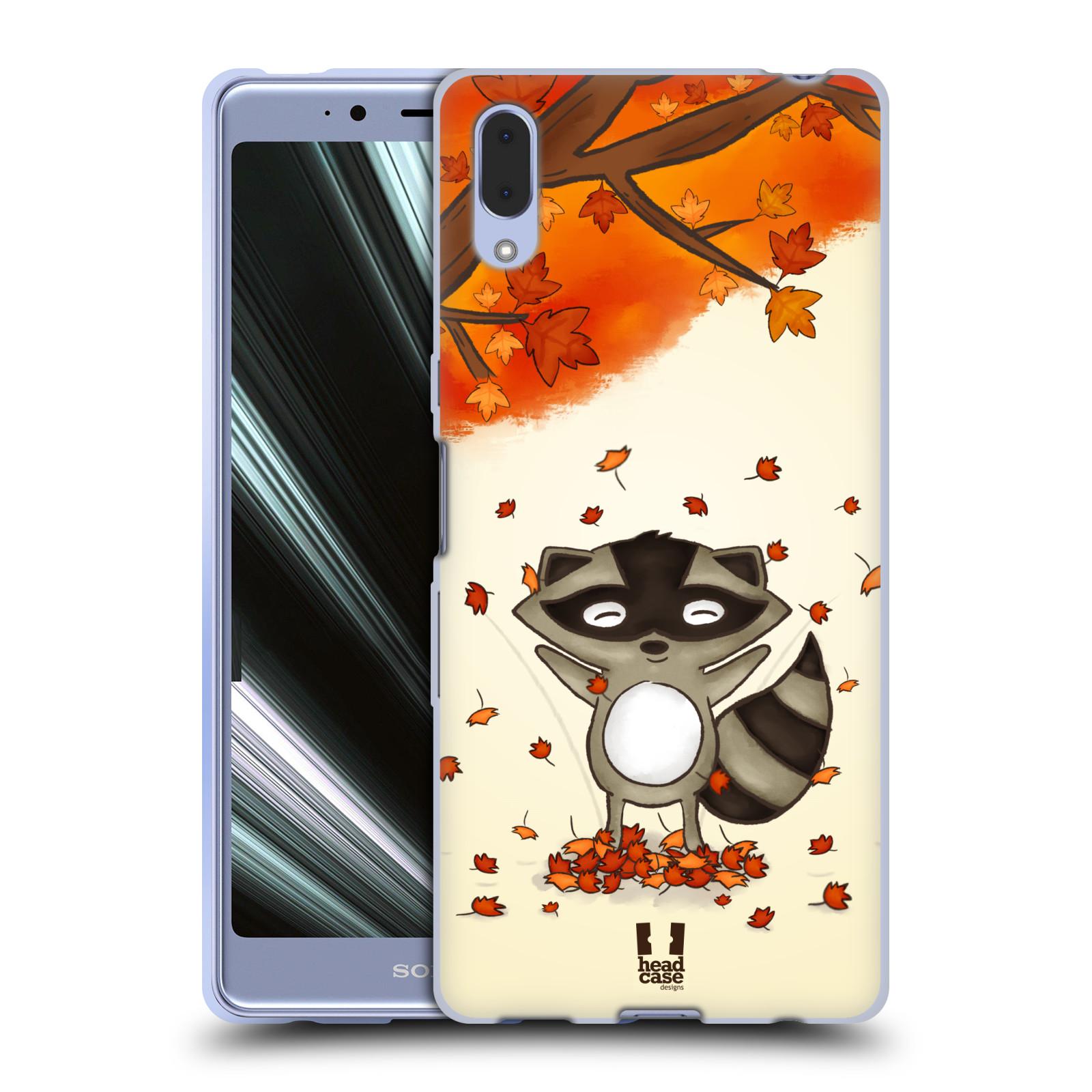 Silikonové pouzdro na mobil Sony Xperia L3 - Head Case - PODZIMNÍ MÝVAL
