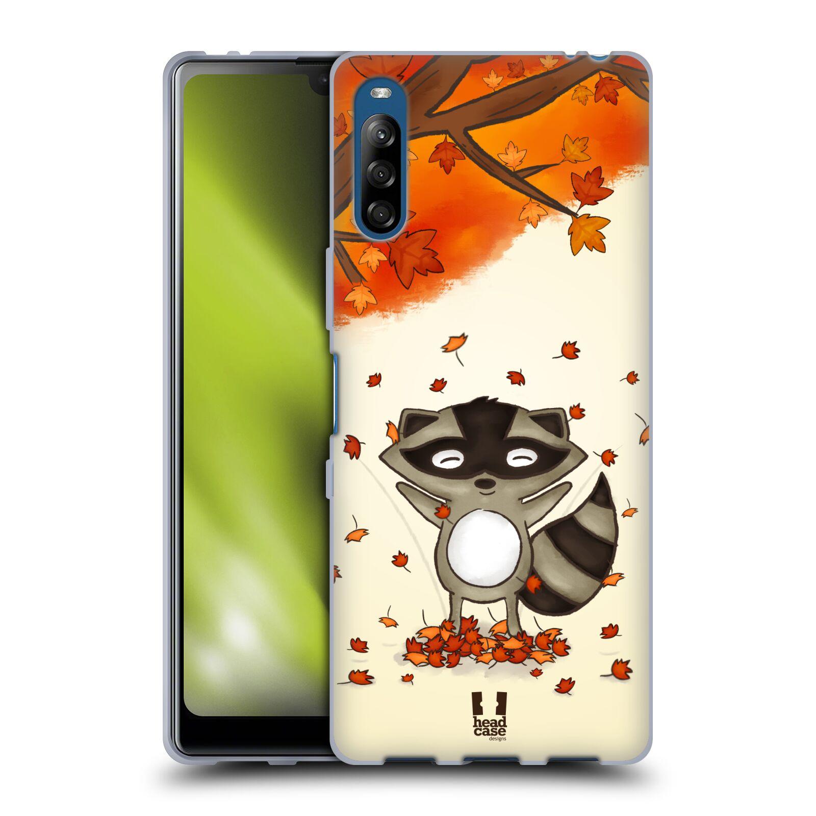 Silikonové pouzdro na mobil Sony Xperia L4 - Head Case - PODZIMNÍ MÝVAL