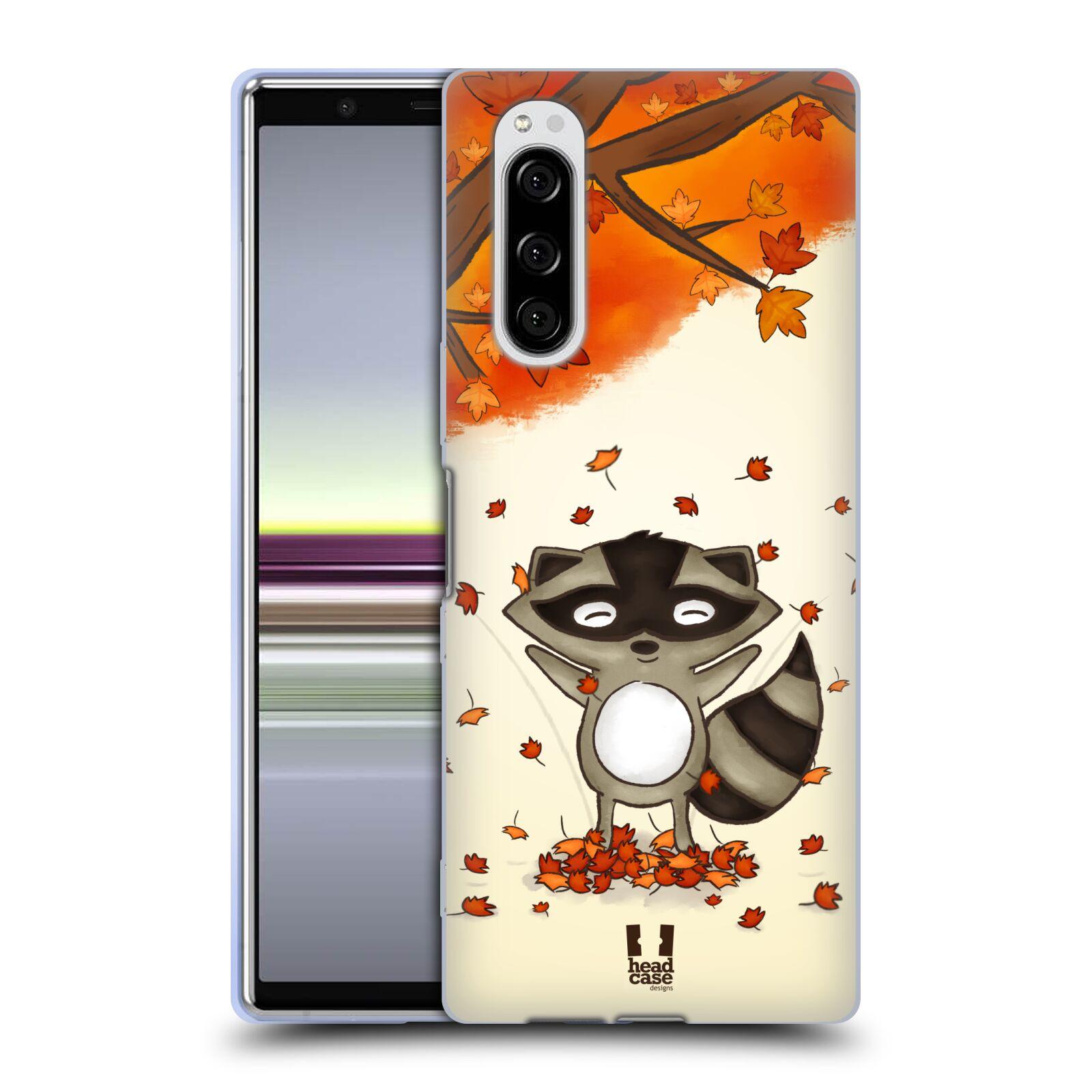 Silikonové pouzdro na mobil Sony Xperia 5 - Head Case - PODZIMNÍ MÝVAL