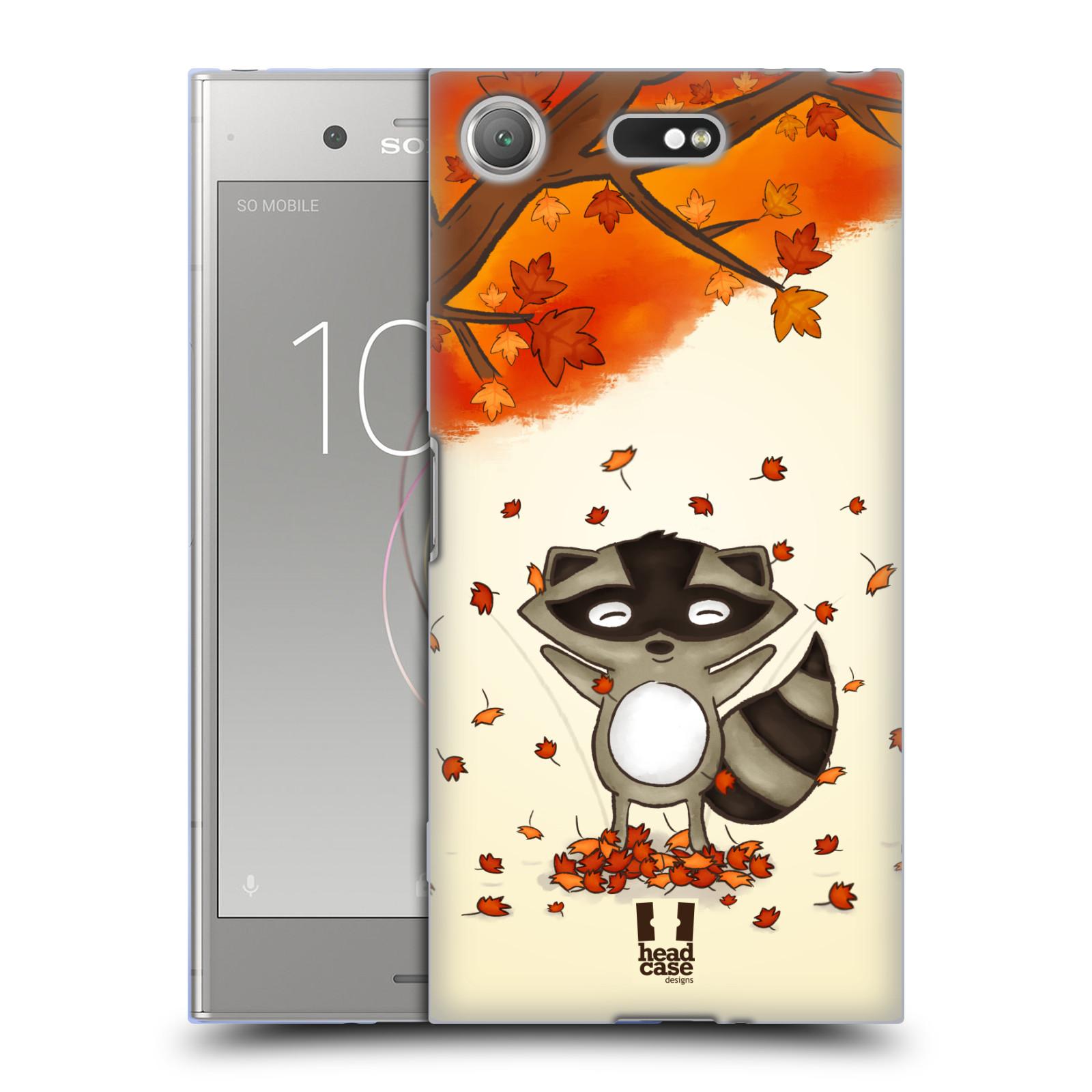 Silikonové pouzdro na mobil Sony Xperia XZ1 Compact - Head Case - PODZIMNÍ MÝVAL