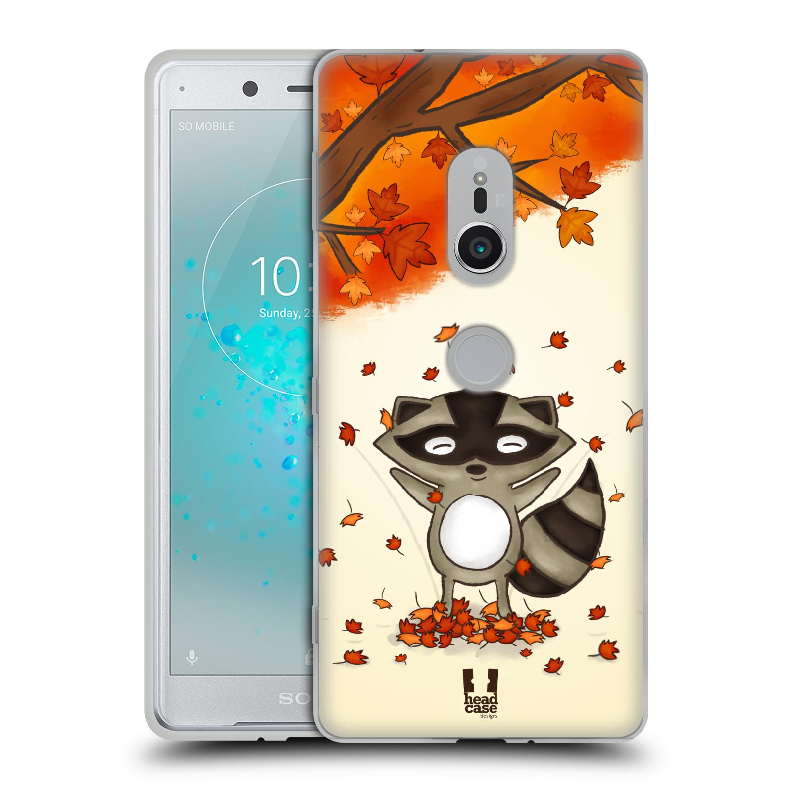 Silikonové pouzdro na mobil Sony Xperia XZ2 - Head Case - PODZIMNÍ MÝVAL