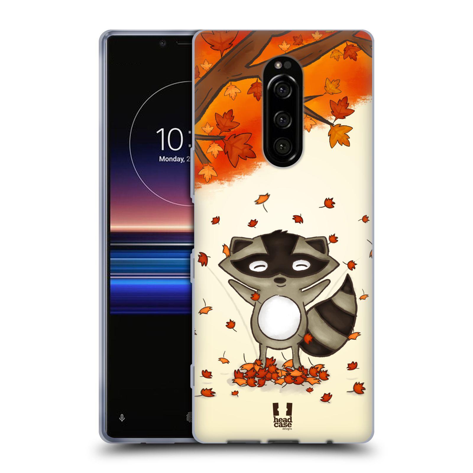 Silikonové pouzdro na mobil Sony Xperia 1 - Head Case - PODZIMNÍ MÝVAL