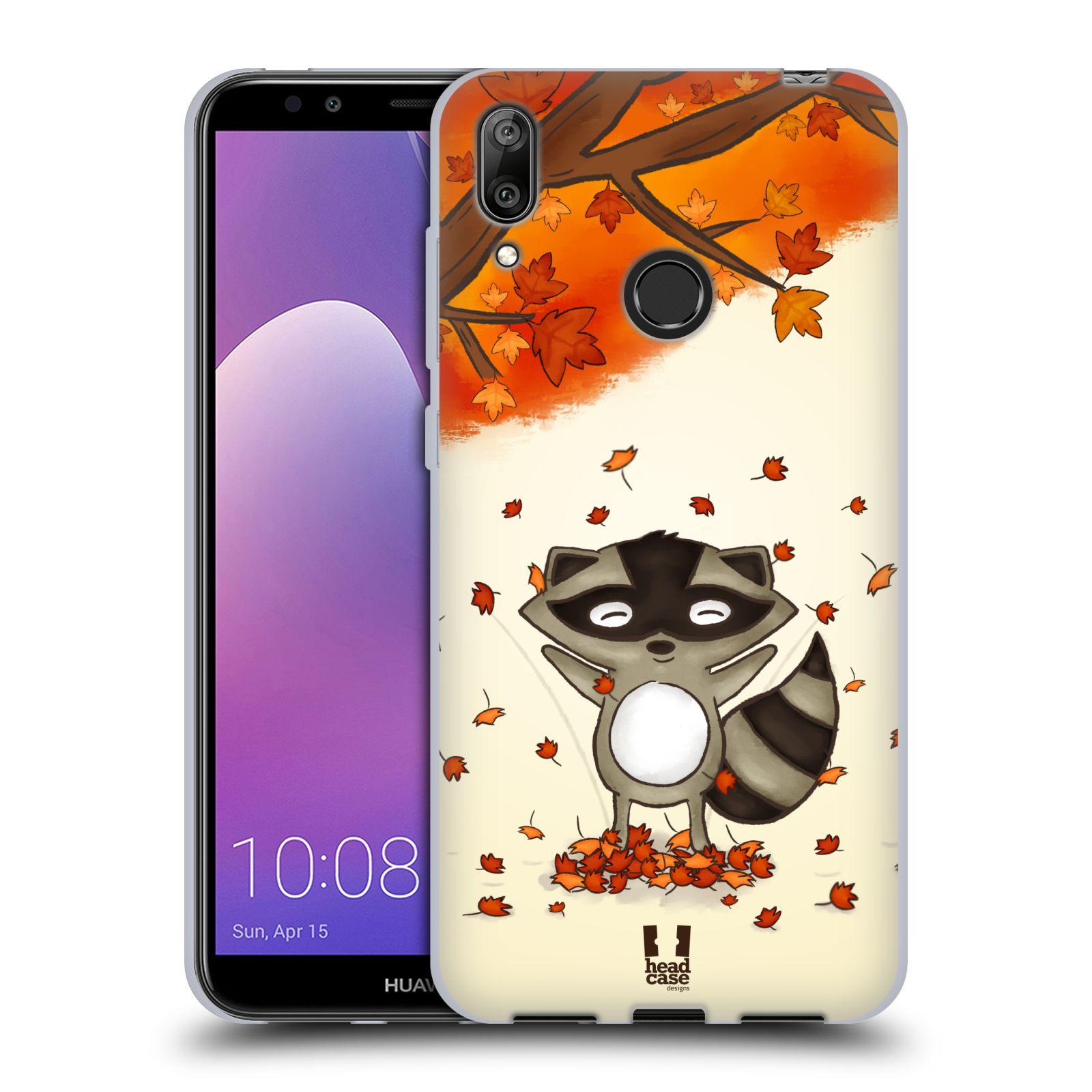 Silikonové pouzdro na mobil Huawei Y7 (2019) - Head Case - PODZIMNÍ MÝVAL