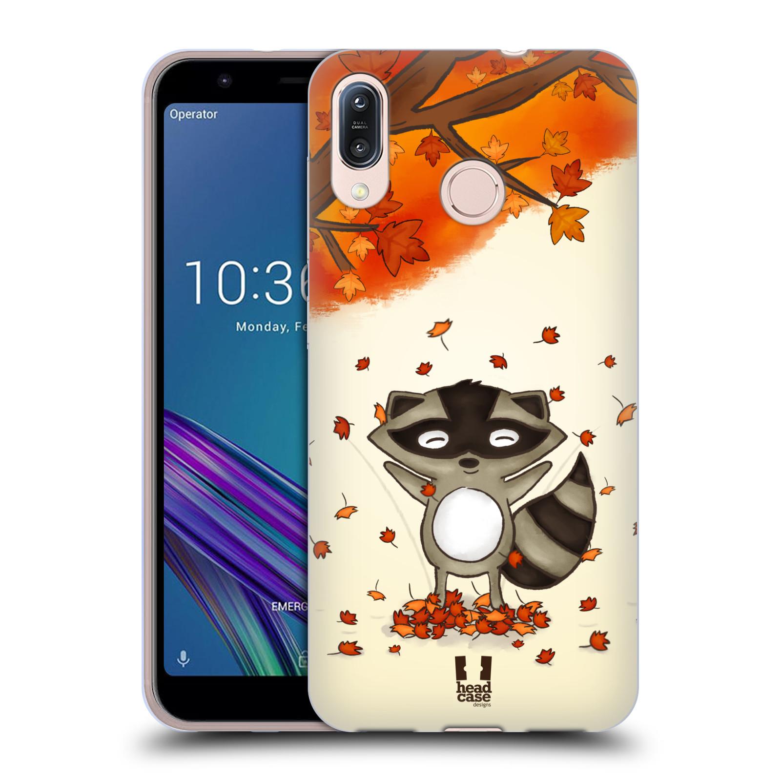Silikonové pouzdro na mobil Asus Zenfone Max M1 ZB555KL - Head Case - PODZIMNÍ MÝVAL