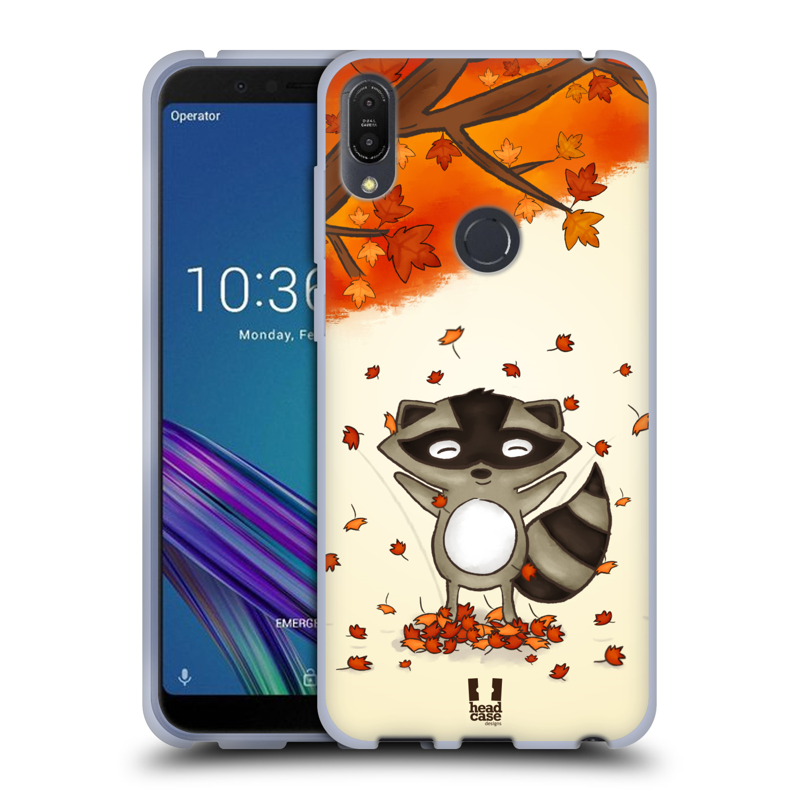 Silikonové pouzdro na mobil Asus ZenFone Max Pro (M1) - Head Case - PODZIMNÍ MÝVAL