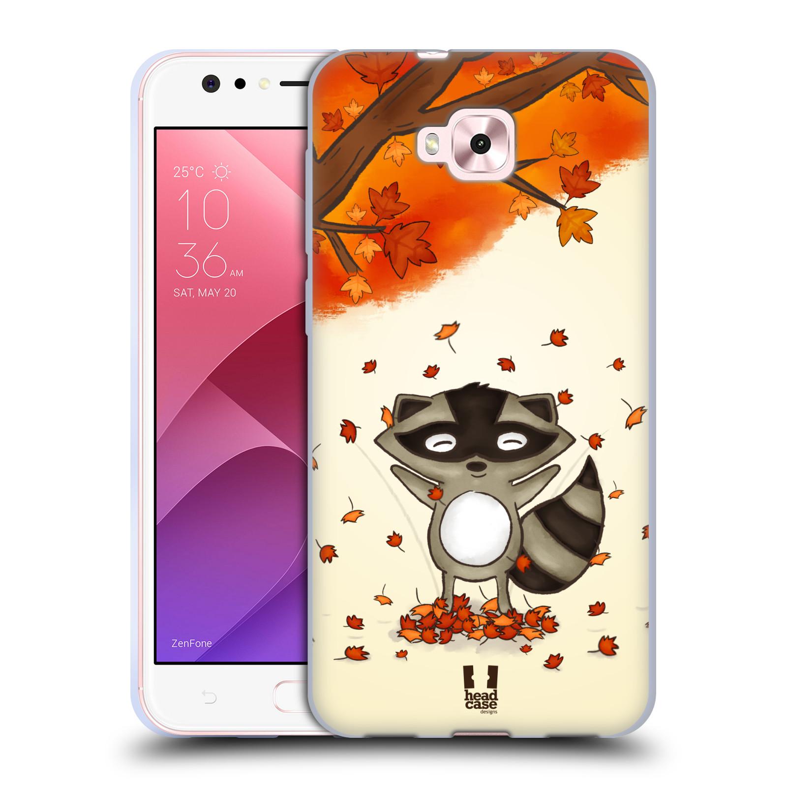 Silikonové pouzdro na mobil Asus Zenfone 4 Selfie ZD553KL - Head Case - PODZIMNÍ MÝVAL