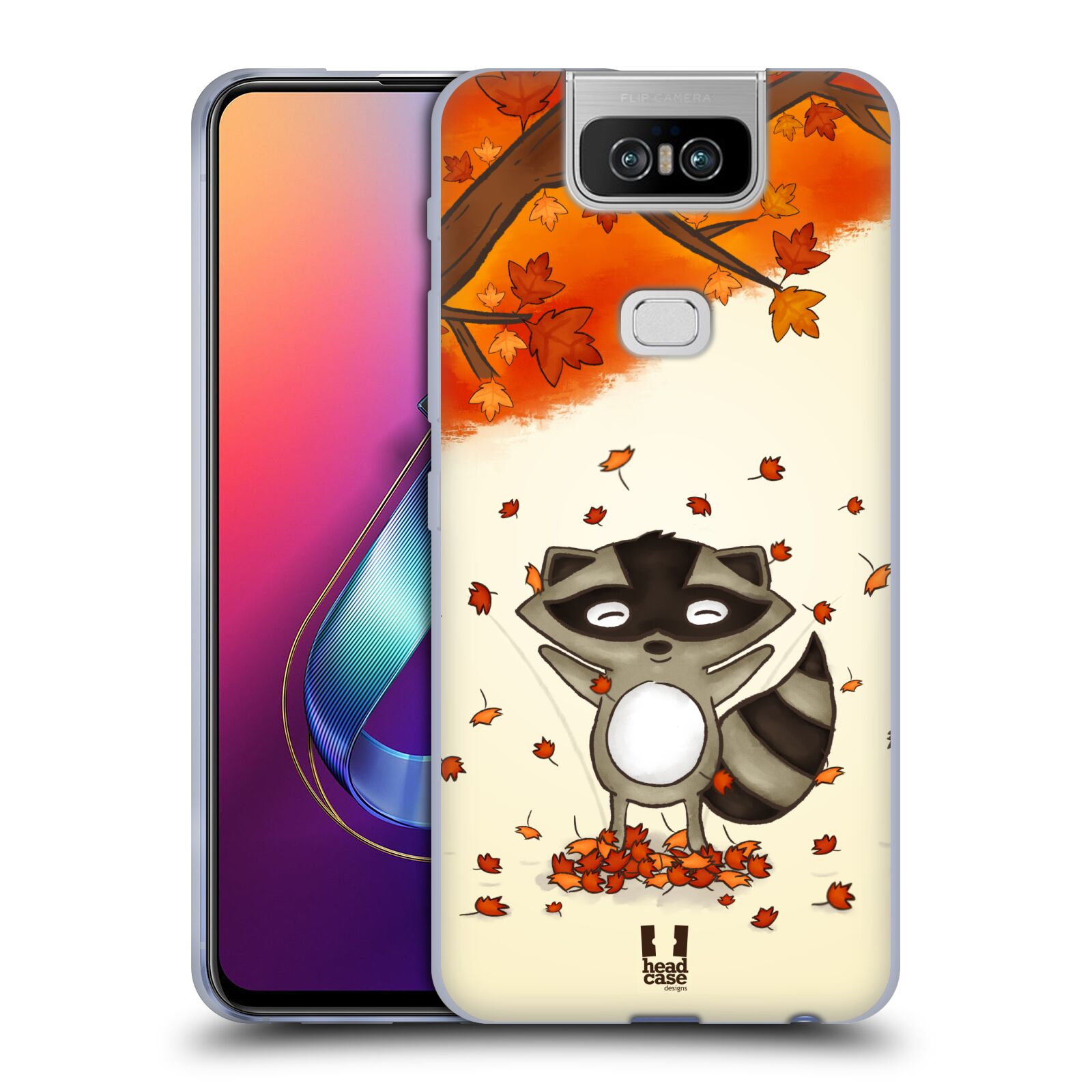 Silikonové pouzdro na mobil Asus Zenfone 6 ZS630KL - Head Case - PODZIMNÍ MÝVAL