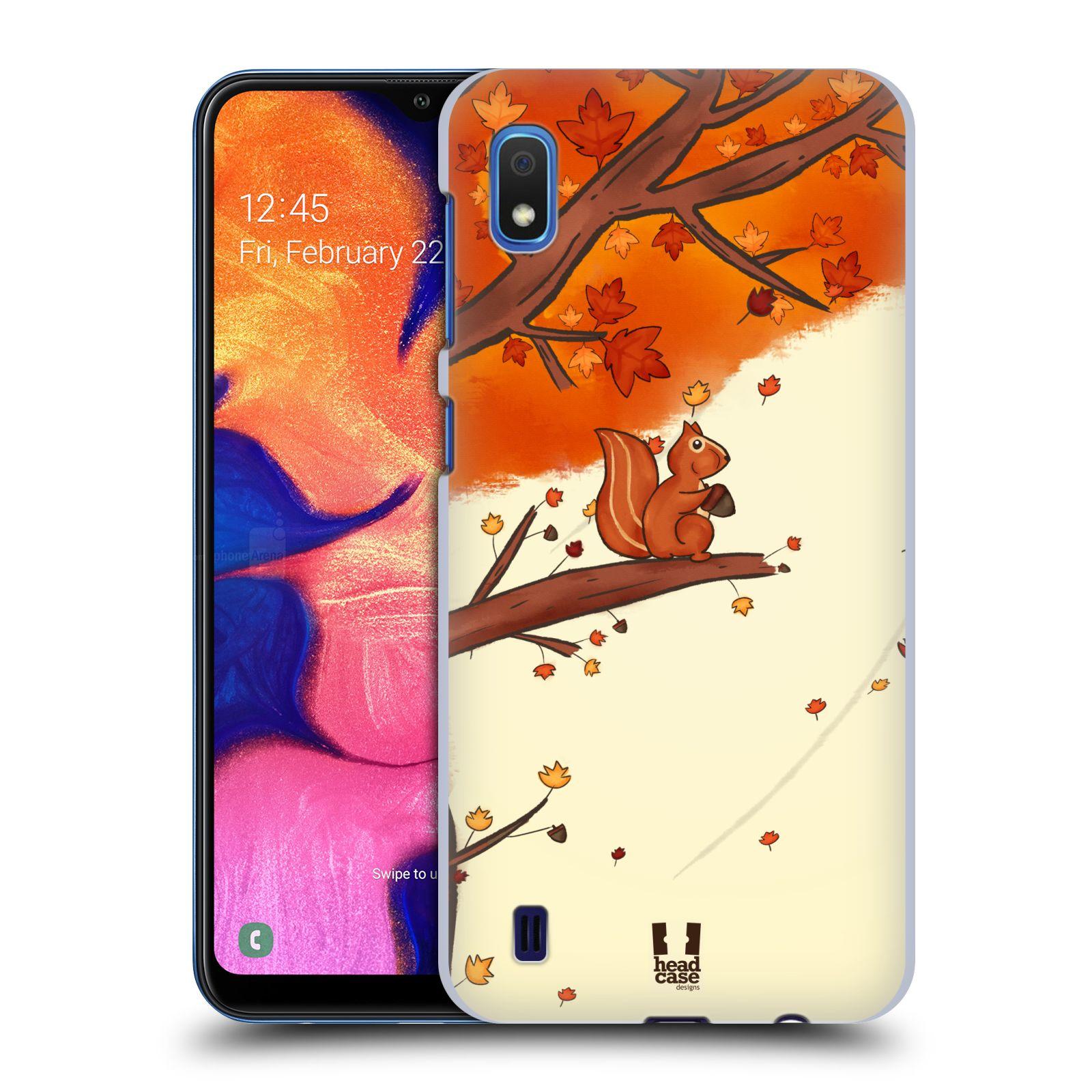 Plastové pouzdro na mobil Samsung Galaxy A10 - Head Case - PODZIMNÍ VEVERKA