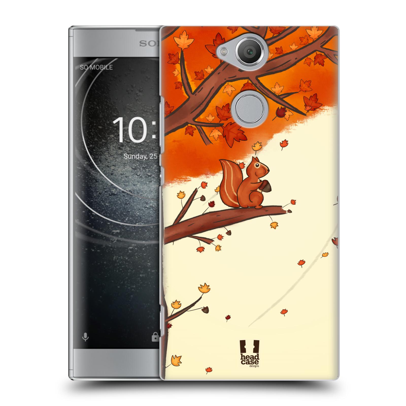 Plastové pouzdro na mobil Sony Xperia XA2 - Head Case - PODZIMNÍ VEVERKA