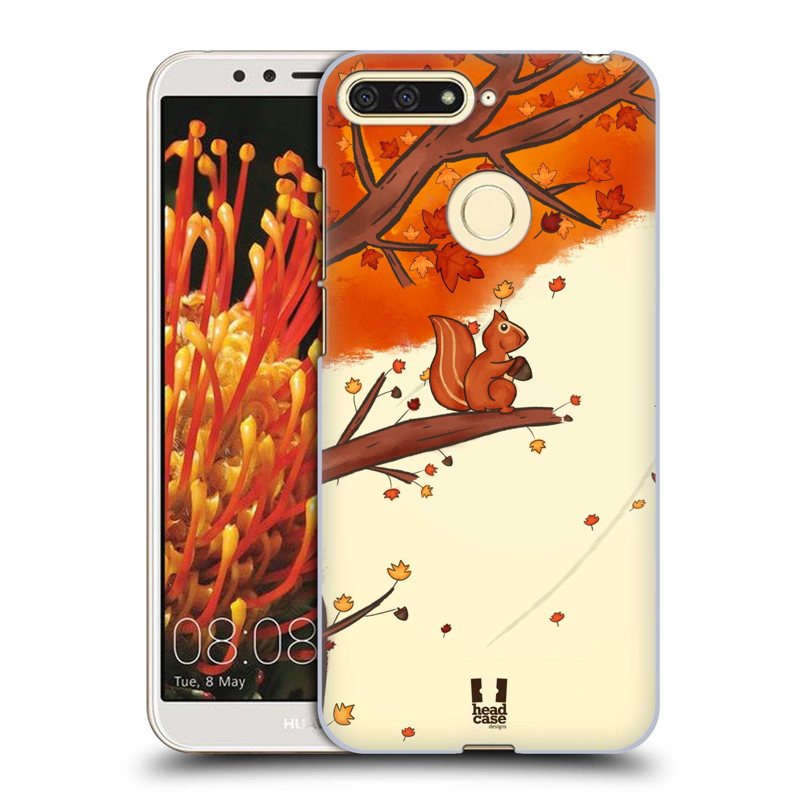Plastové pouzdro na mobil Huawei Y6 Prime 2018 - Head Case - PODZIMNÍ VEVERKA