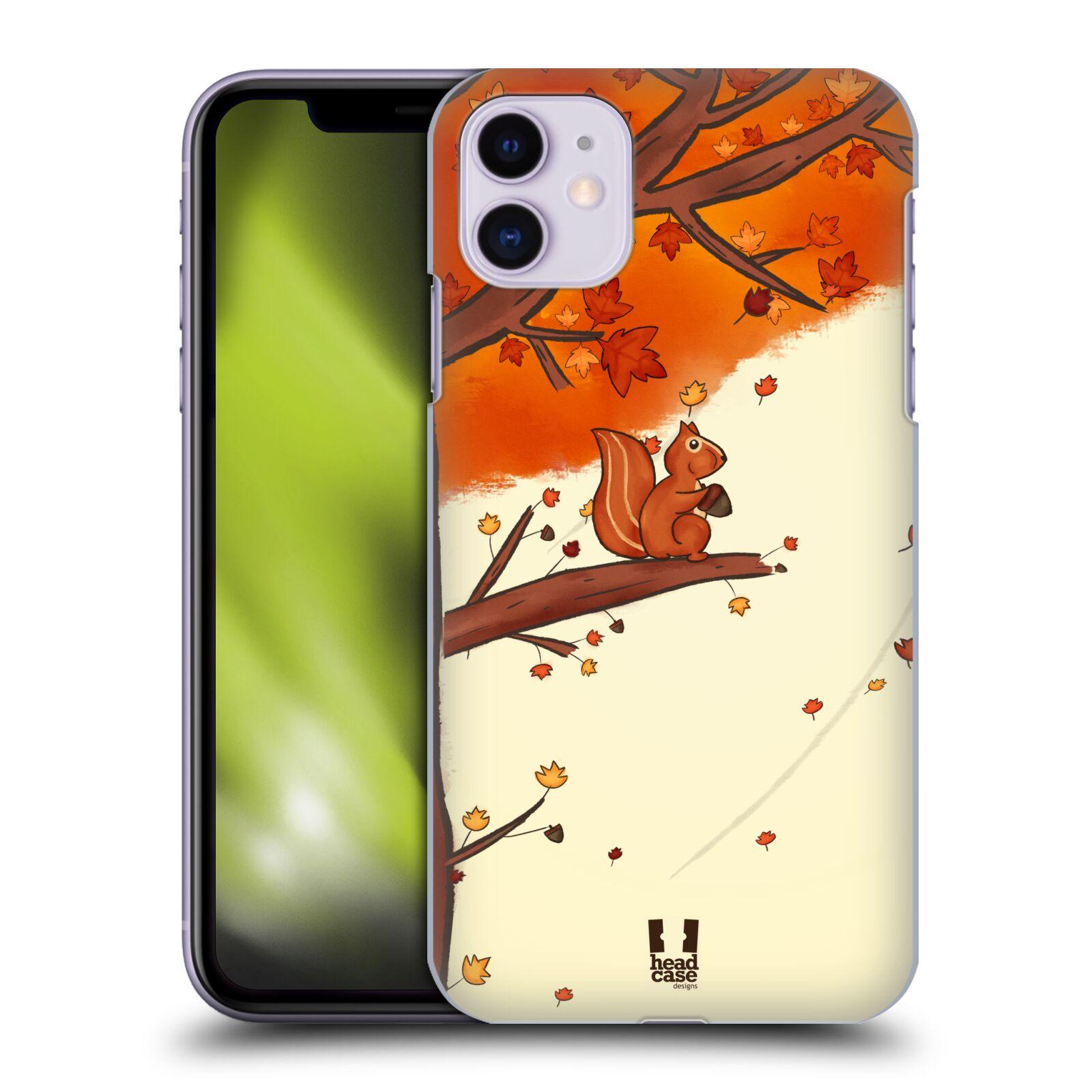 Plastové pouzdro na mobil Apple iPhone 11 - Head Case - PODZIMNÍ VEVERKA