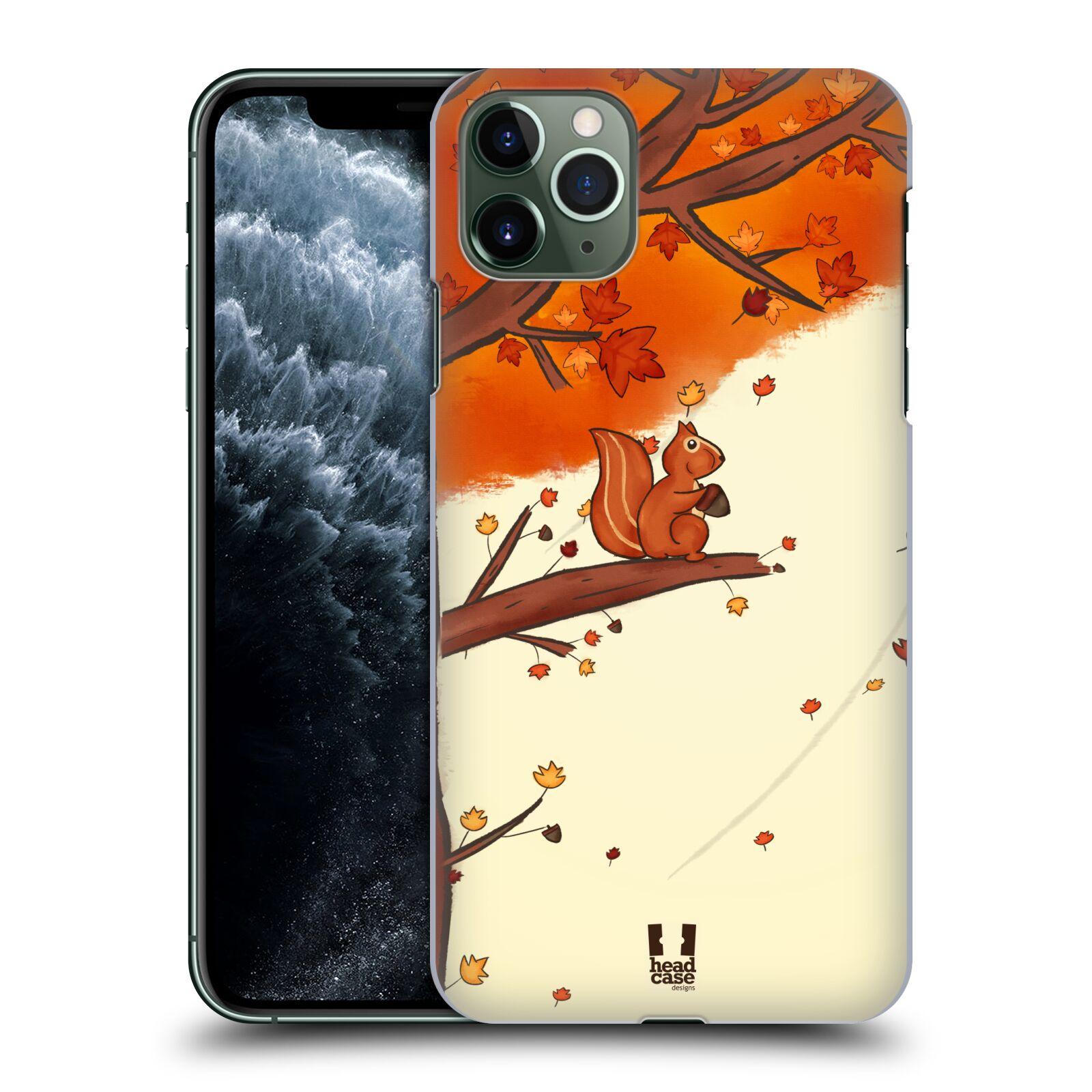 Plastové pouzdro na mobil Apple iPhone 11 Pro Max - Head Case - PODZIMNÍ VEVERKA