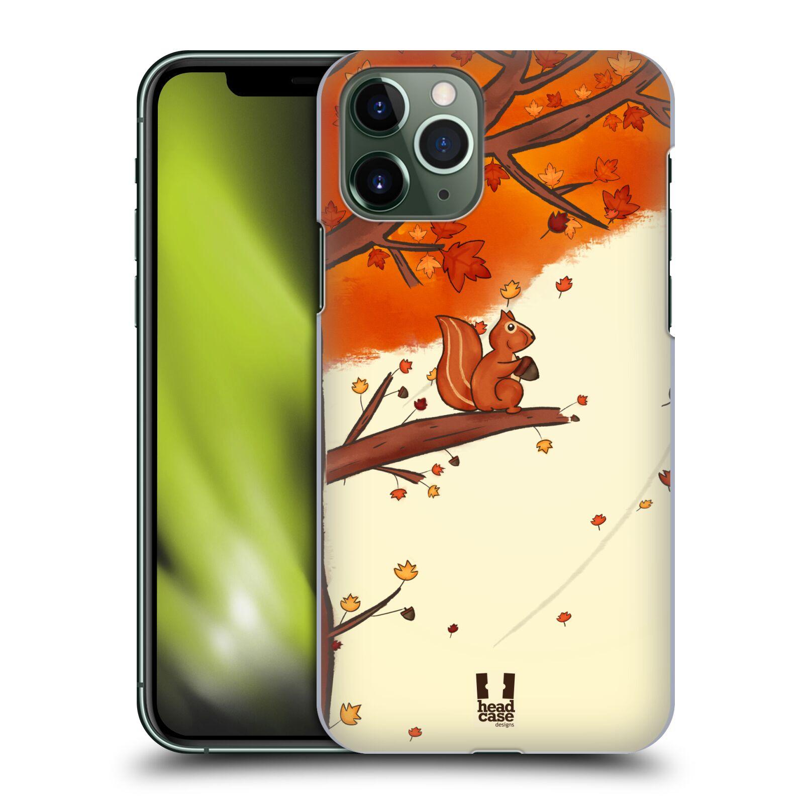 Plastové pouzdro na mobil Apple iPhone 11 Pro - Head Case - PODZIMNÍ VEVERKA