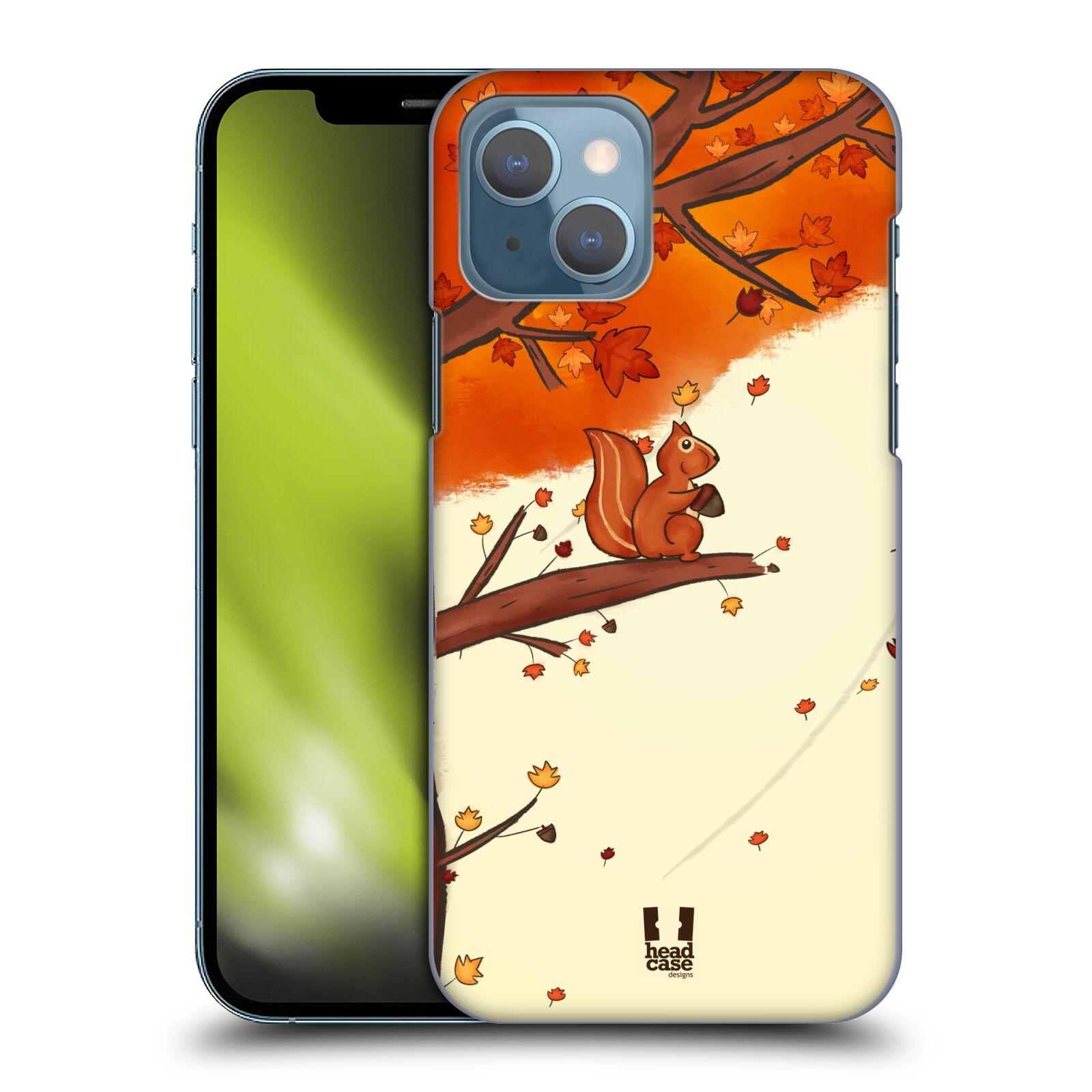 Plastové pouzdro na mobil Apple iPhone 13 - Head Case - PODZIMNÍ VEVERKA