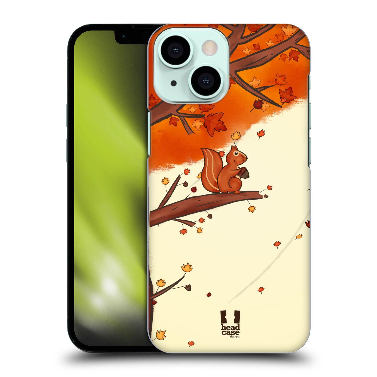 Plastové pouzdro na mobil Apple iPhone 13 Mini - Head Case - PODZIMNÍ VEVERKA