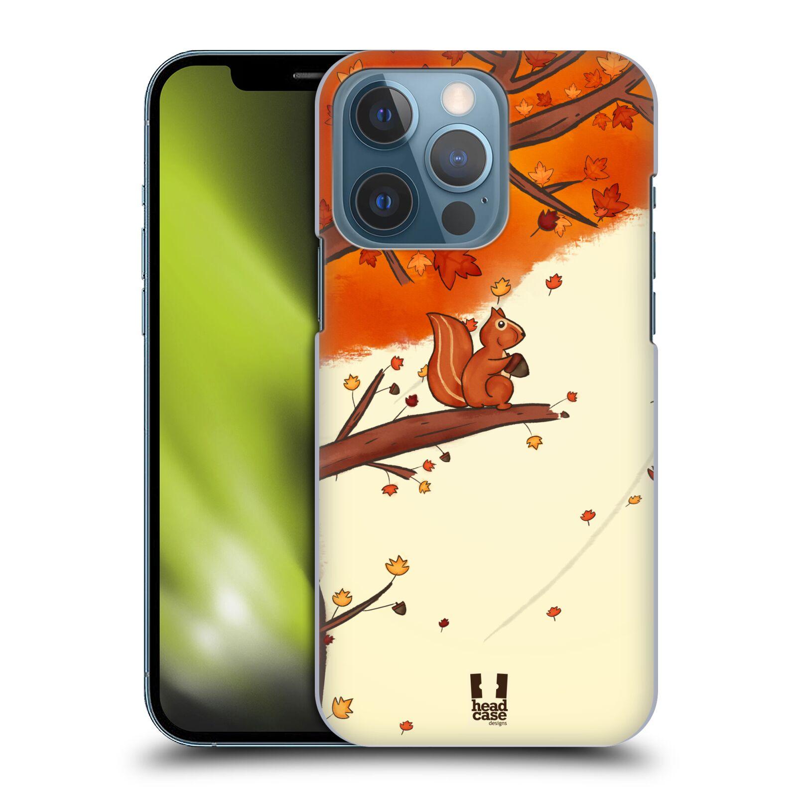 Plastové pouzdro na mobil Apple iPhone 13 Pro - Head Case - PODZIMNÍ VEVERKA
