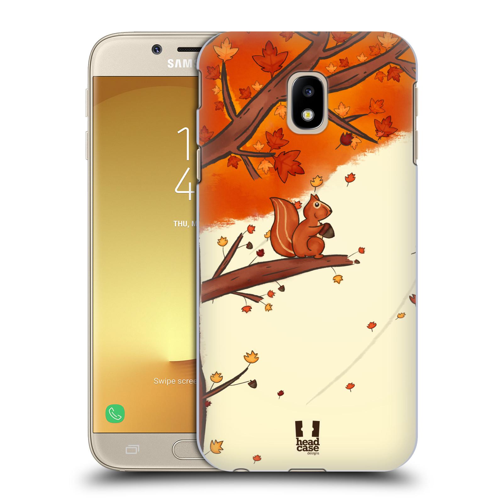 Plastové pouzdro na mobil Samsung Galaxy J3 (2017) - Head Case - PODZIMNÍ VEVERKA