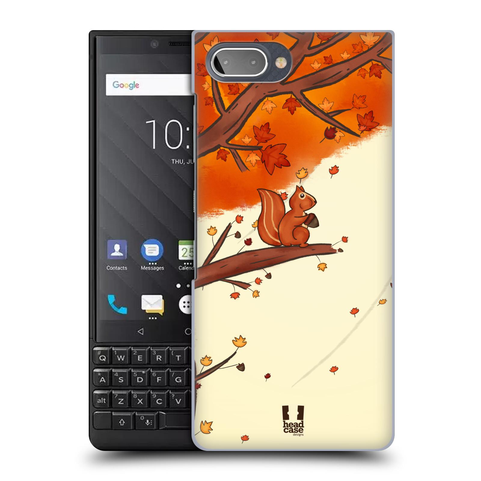 Plastové pouzdro na mobil Blackberry Key 2 - Head Case - PODZIMNÍ VEVERKA