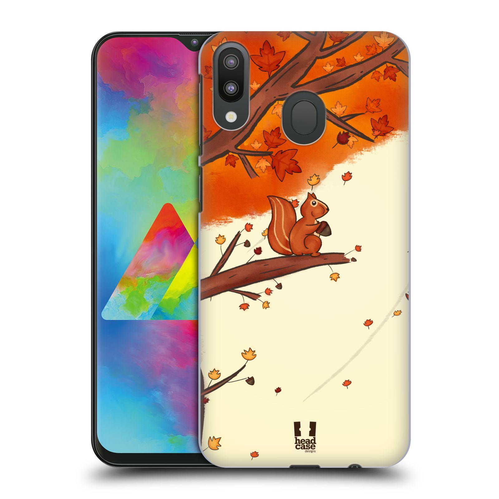 Plastové pouzdro na mobil Samsung Galaxy M20 - Head Case - PODZIMNÍ VEVERKA