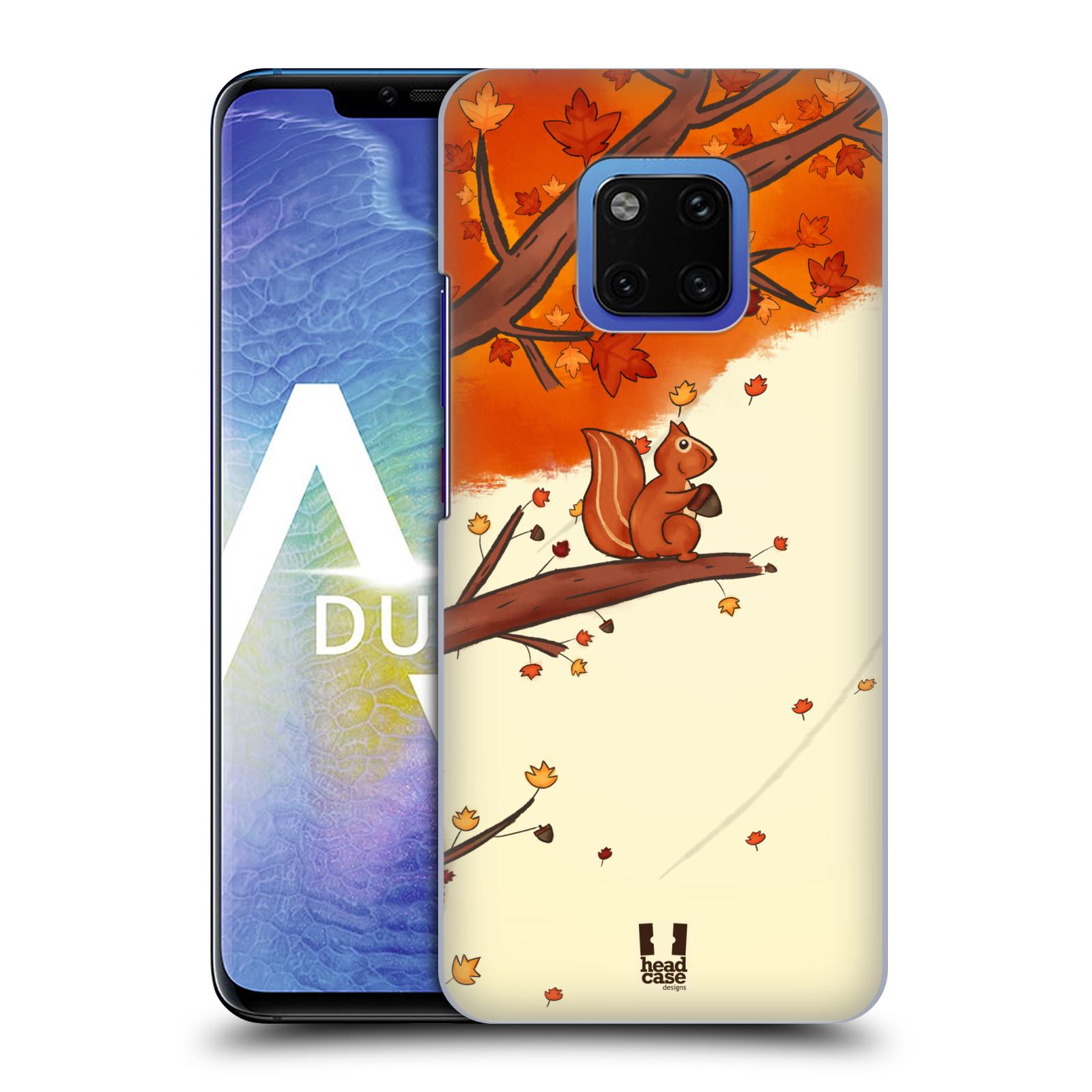 Plastové pouzdro na mobil Huawei Mate 20 Pro - Head Case - PODZIMNÍ VEVERKA