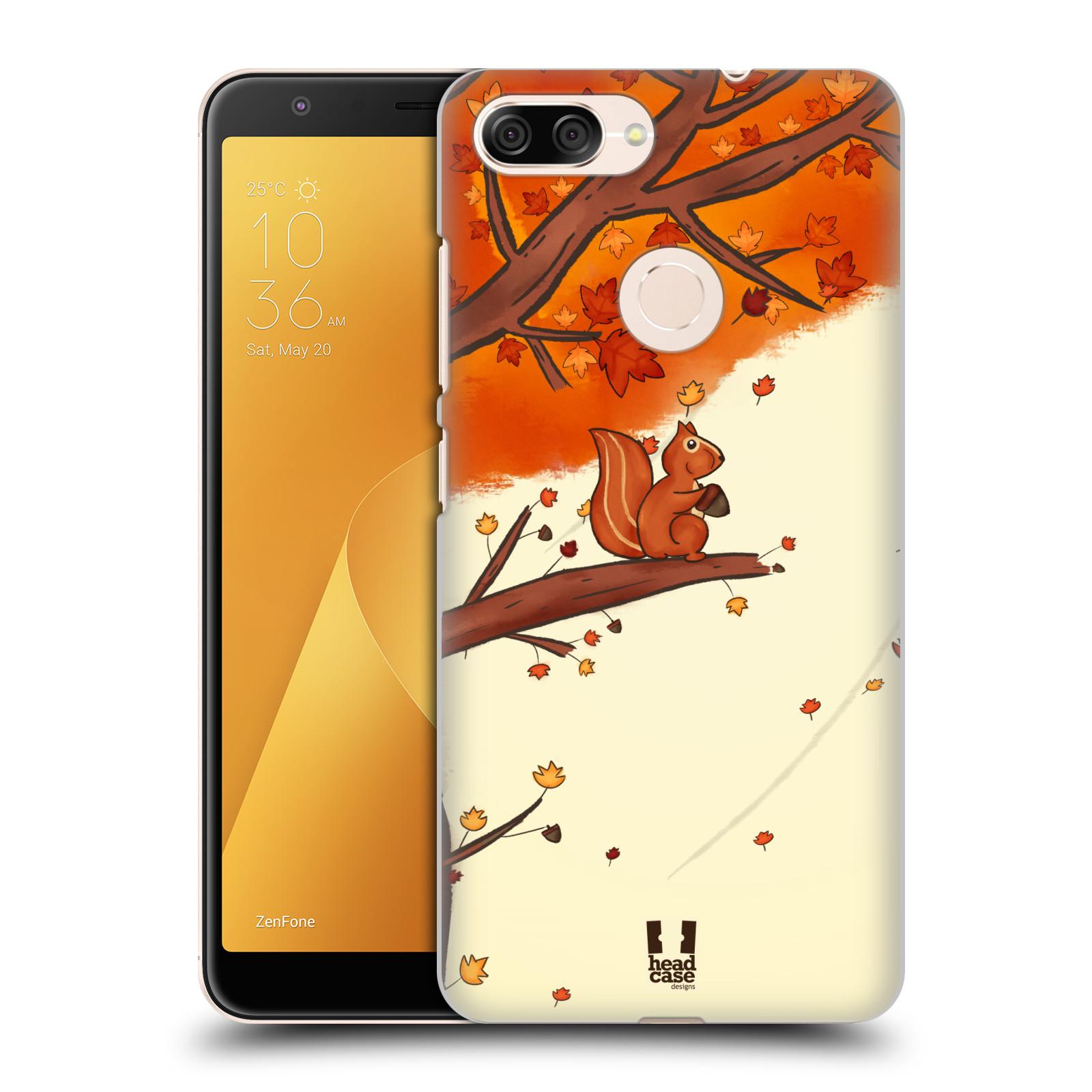 Plastové pouzdro na mobil Asus ZenFone Max Plus (M1) - Head Case - PODZIMNÍ VEVERKA