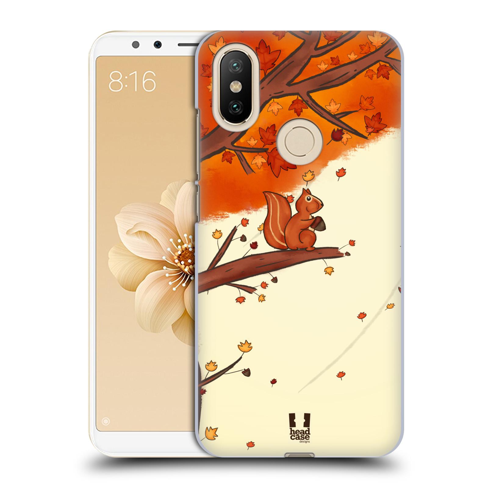 Plastové pouzdro na mobil Xiaomi Mi A2 - Head Case - PODZIMNÍ VEVERKA