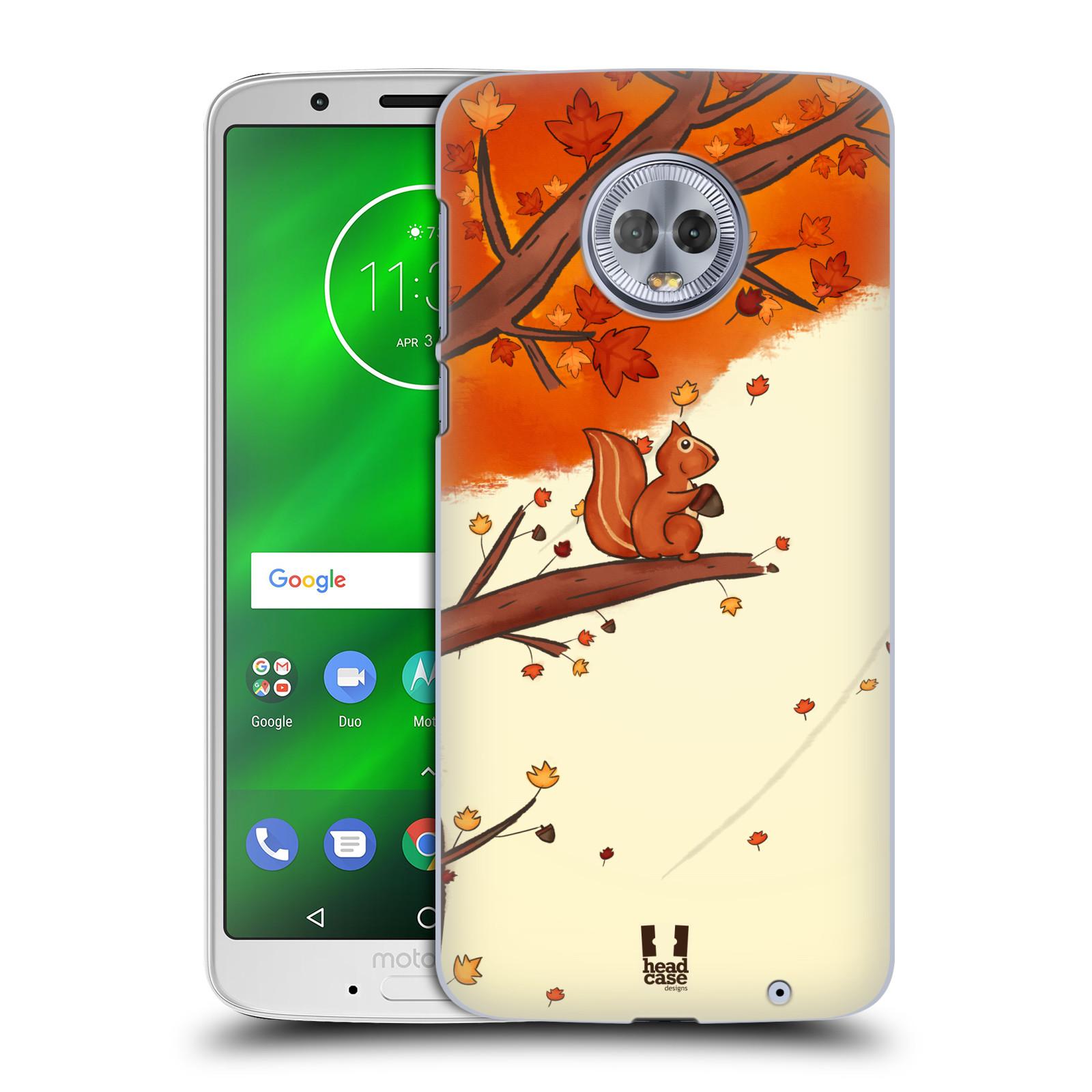 Plastové pouzdro na mobil Motorola Moto G6 Plus - Head Case - PODZIMNÍ VEVERKA
