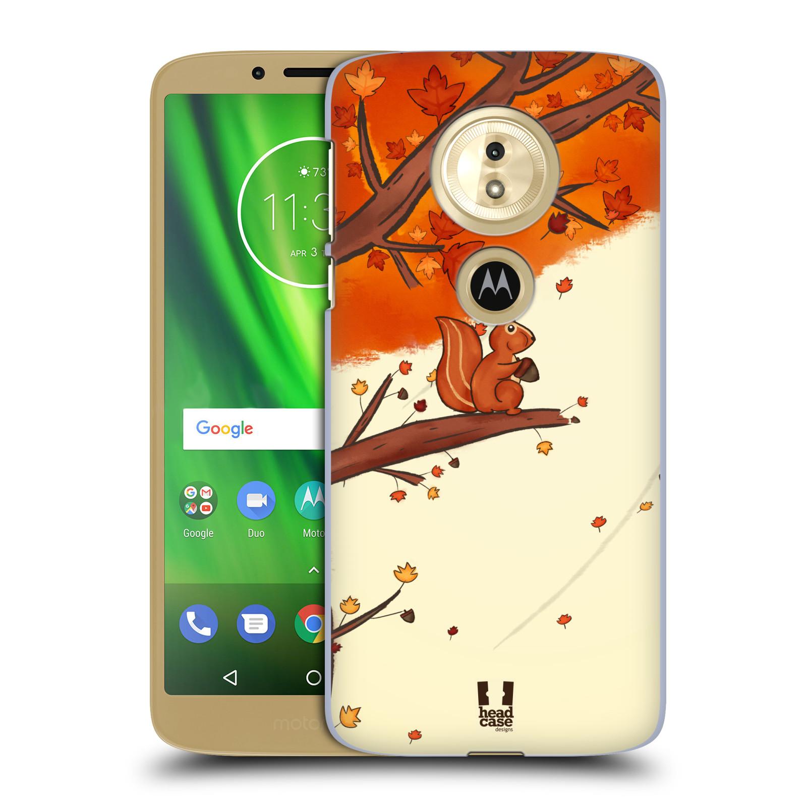 Plastové pouzdro na mobil Motorola Moto G6 Play - Head Case - PODZIMNÍ VEVERKA