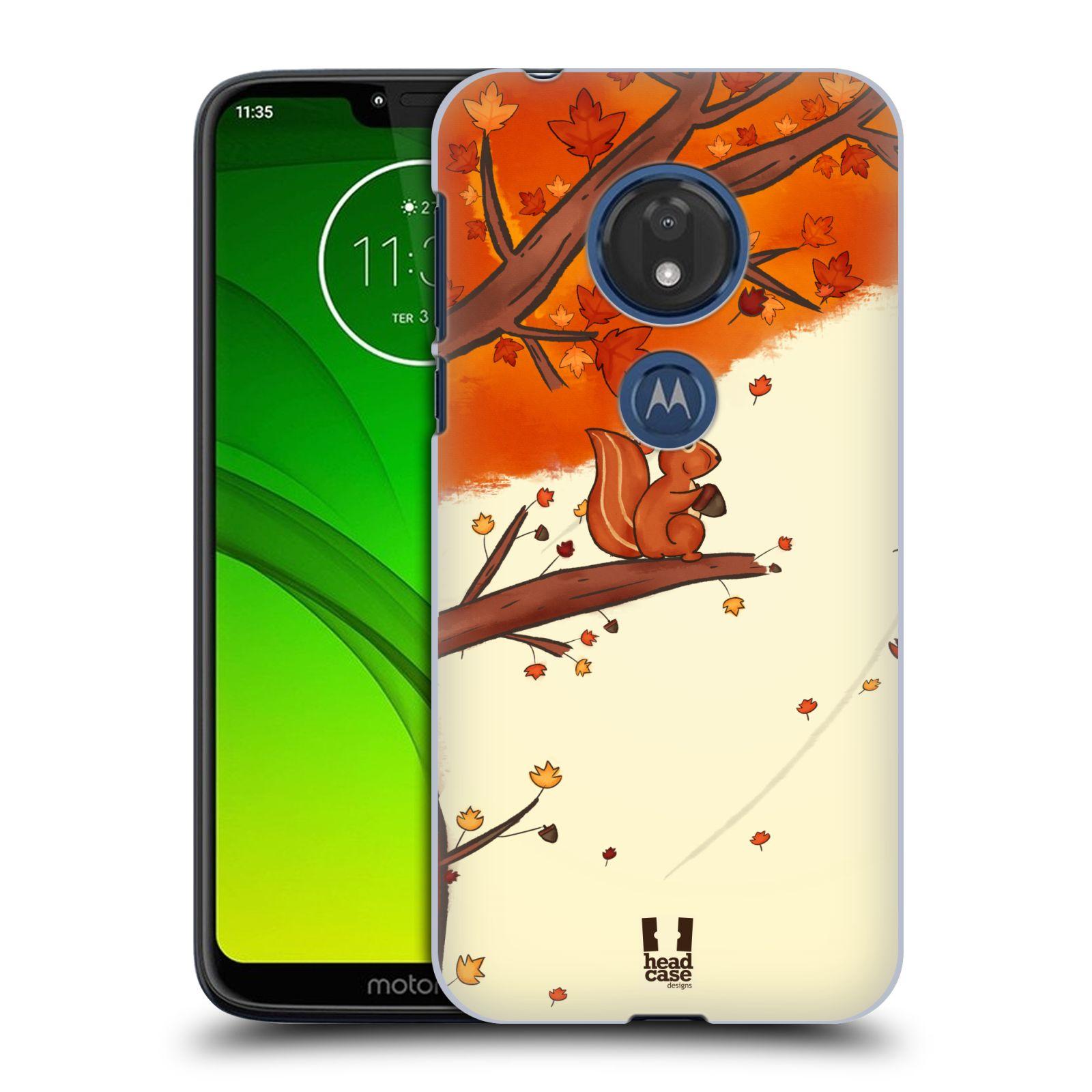 Plastové pouzdro na mobil Motorola Moto G7 Play - Head Case - PODZIMNÍ VEVERKA