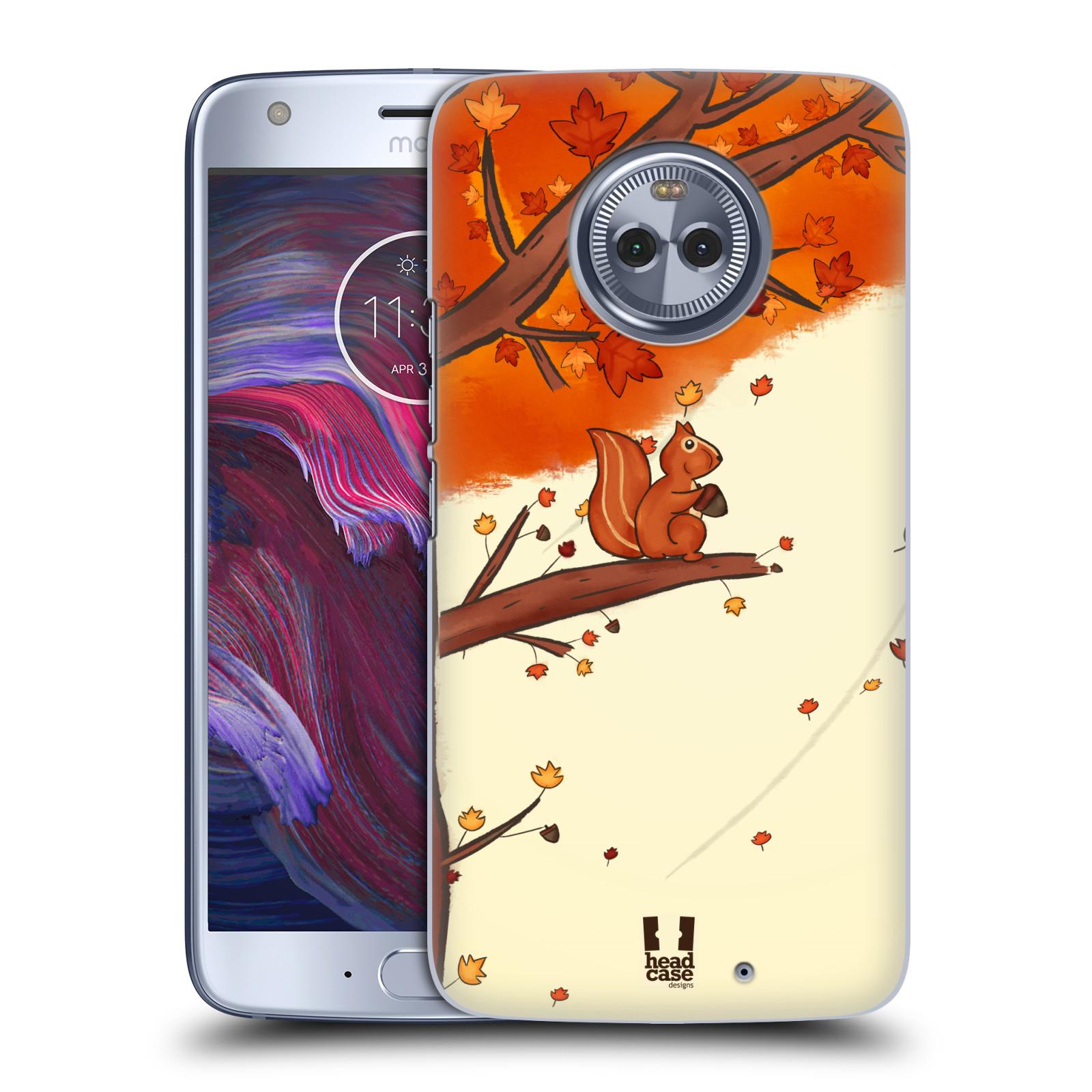 Plastové pouzdro na mobil Lenovo Moto X4 - Head Case - PODZIMNÍ VEVERKA