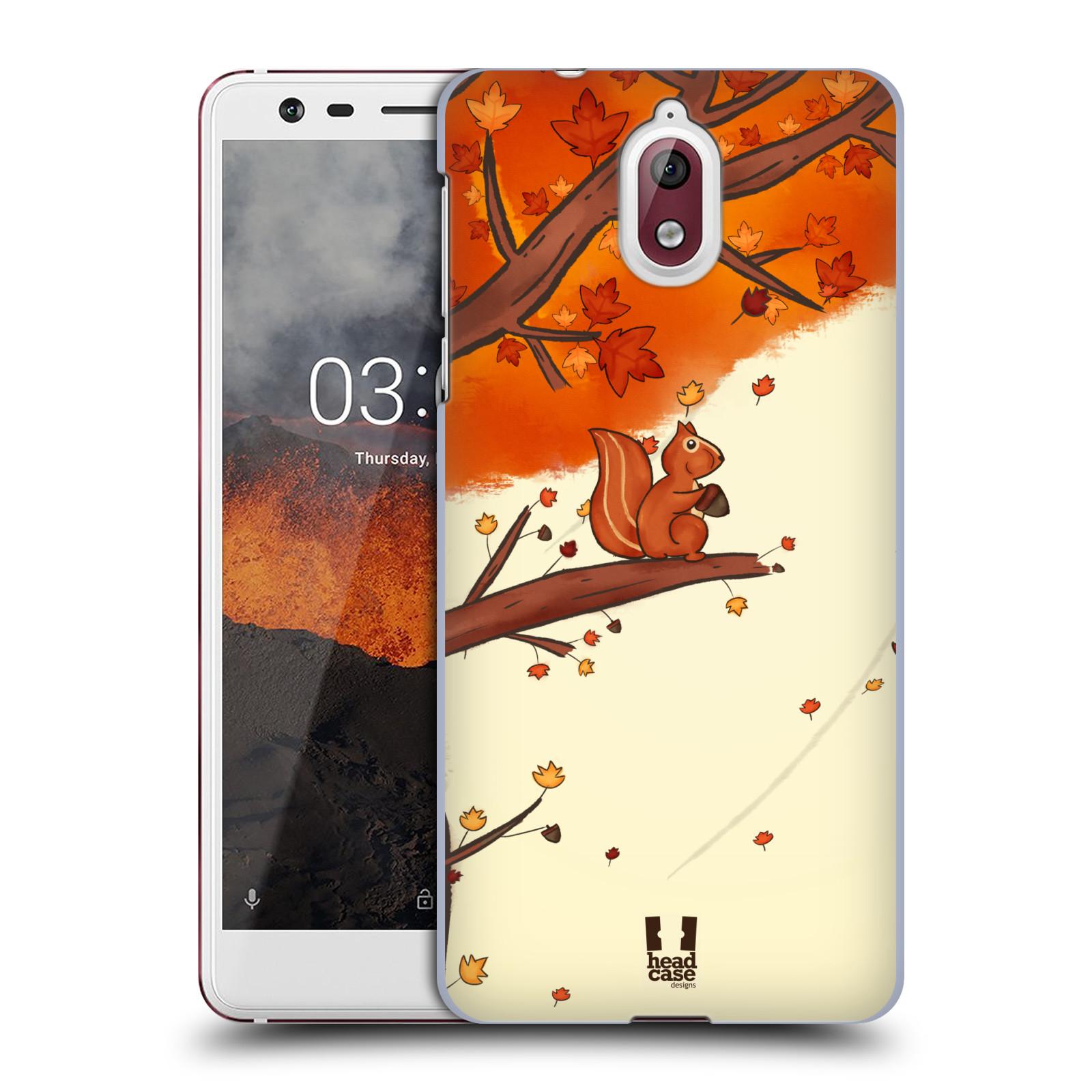 Plastové pouzdro na mobil Nokia 3.1 - Head Case - PODZIMNÍ VEVERKA