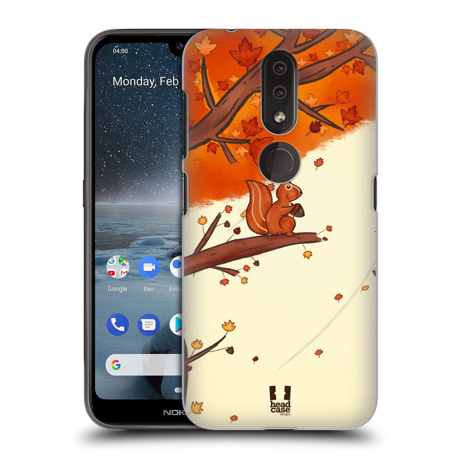 Plastové pouzdro na mobil Nokia 4.2 - Head Case - PODZIMNÍ VEVERKA