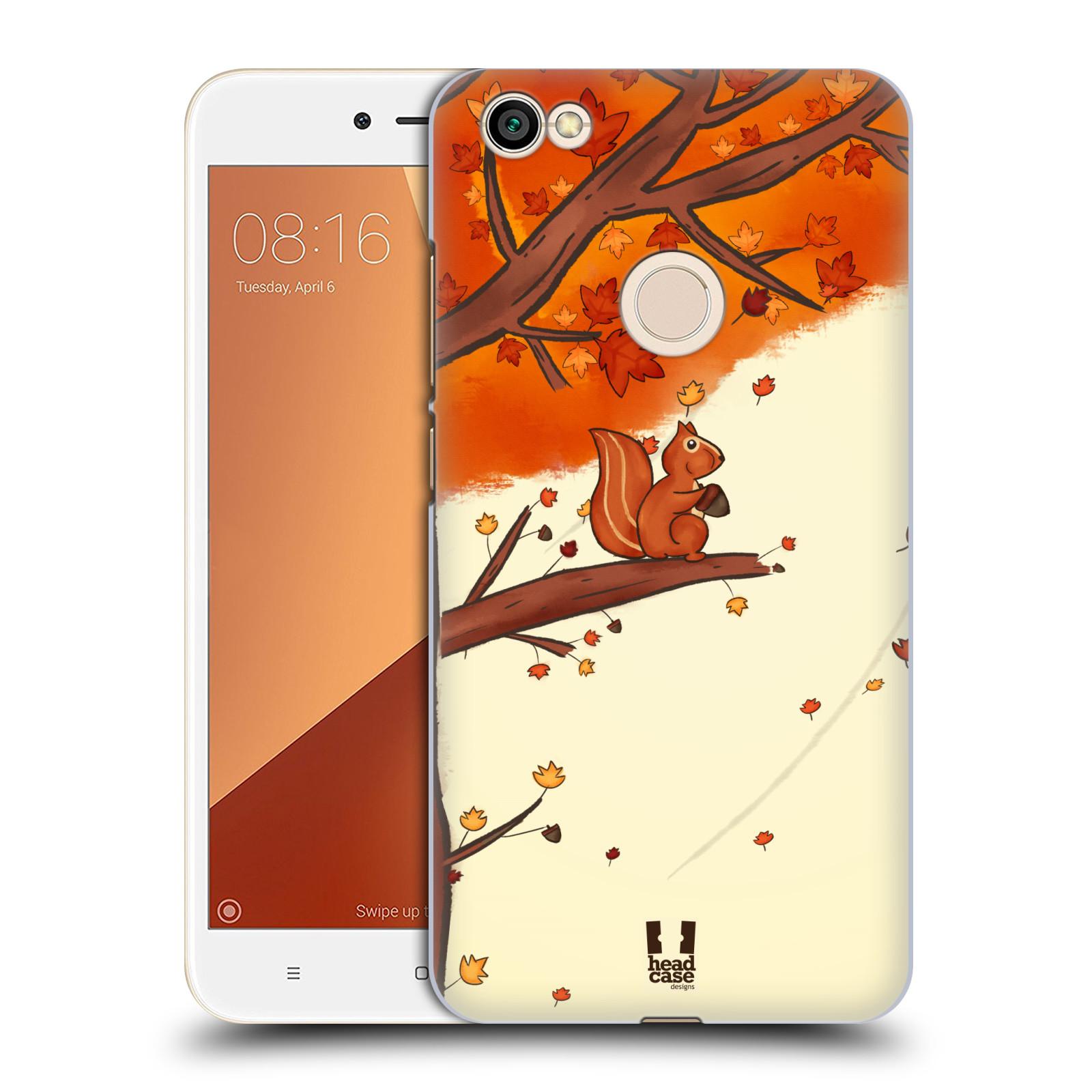 Plastové pouzdro na mobil Xiaomi Redmi Note 5A Prime - Head Case - PODZIMNÍ VEVERKA