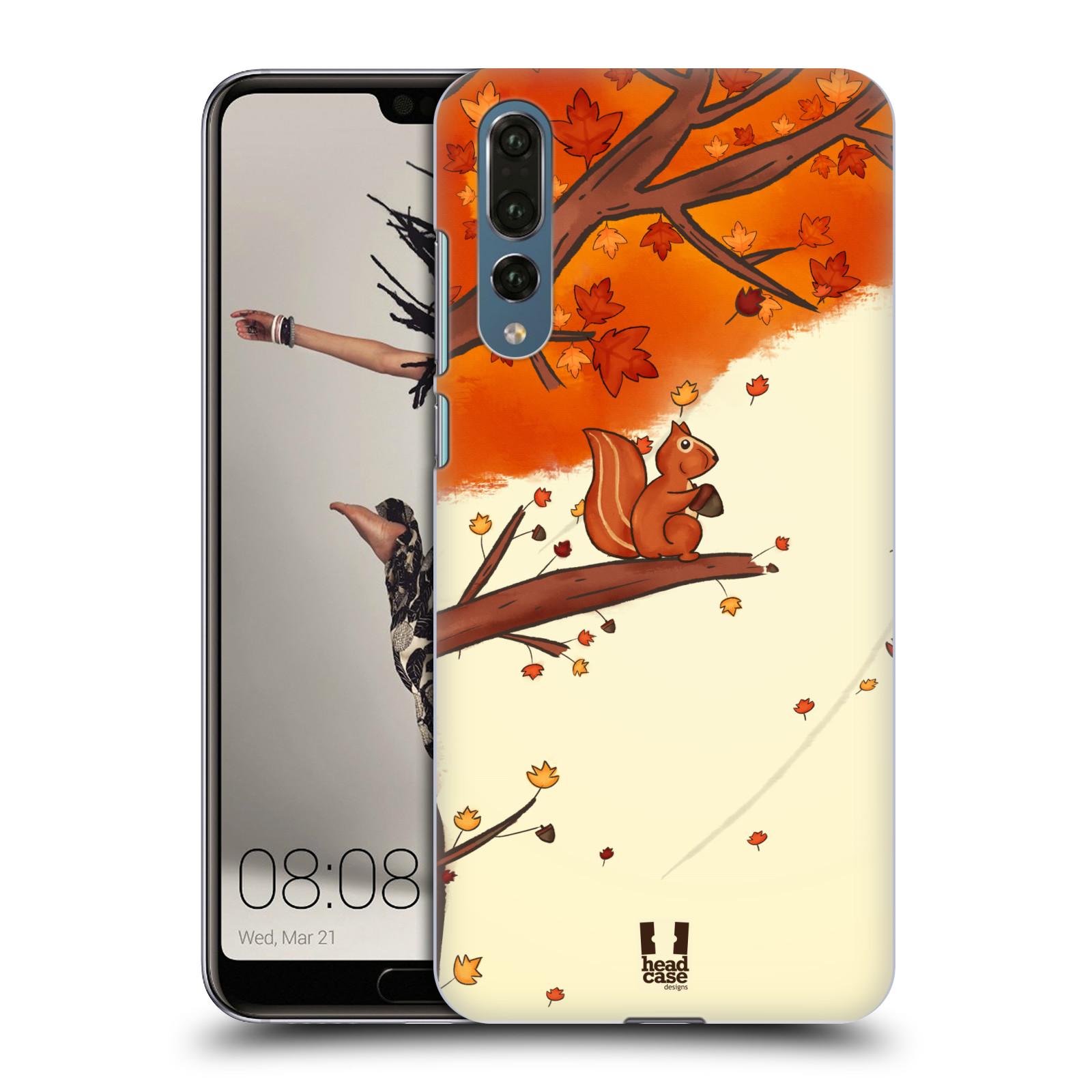 Plastové pouzdro na mobil Huawei P20 Pro - Head Case - PODZIMNÍ VEVERKA