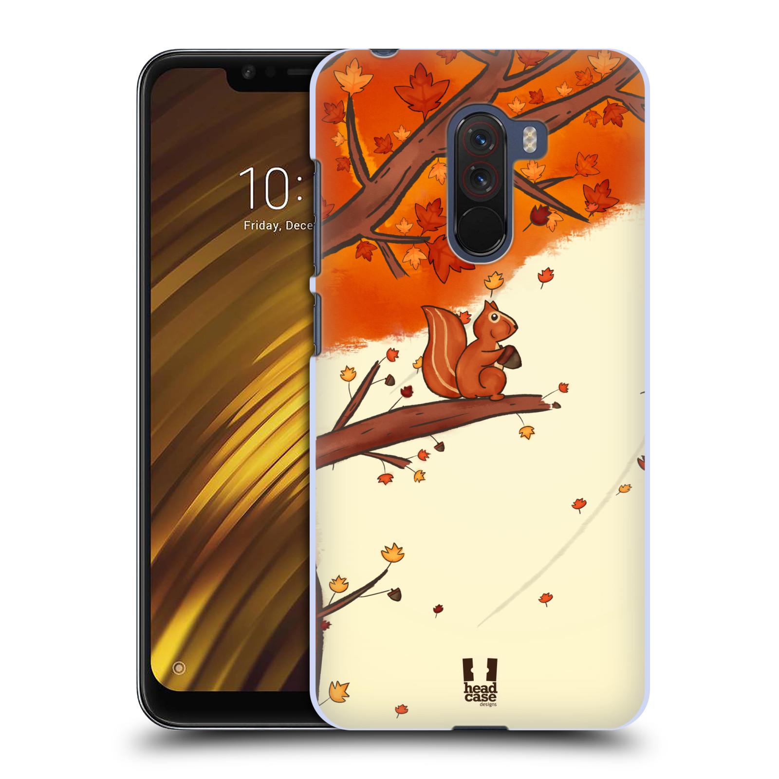 Plastové pouzdro na mobil Xiaomi Pocophone F1 - Head Case - PODZIMNÍ VEVERKA