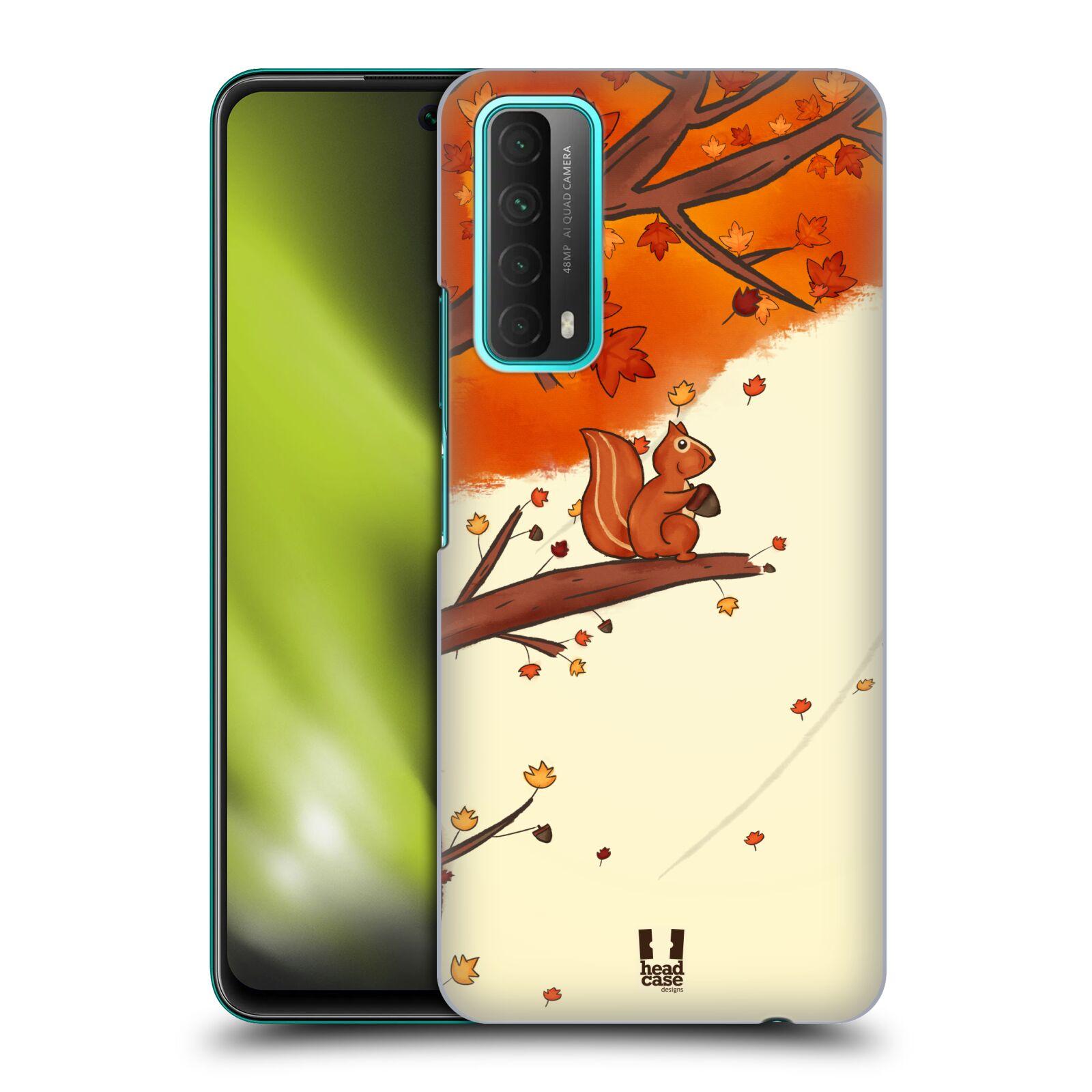 Plastové pouzdro na mobil Huawei P Smart (2021) - Head Case - PODZIMNÍ VEVERKA