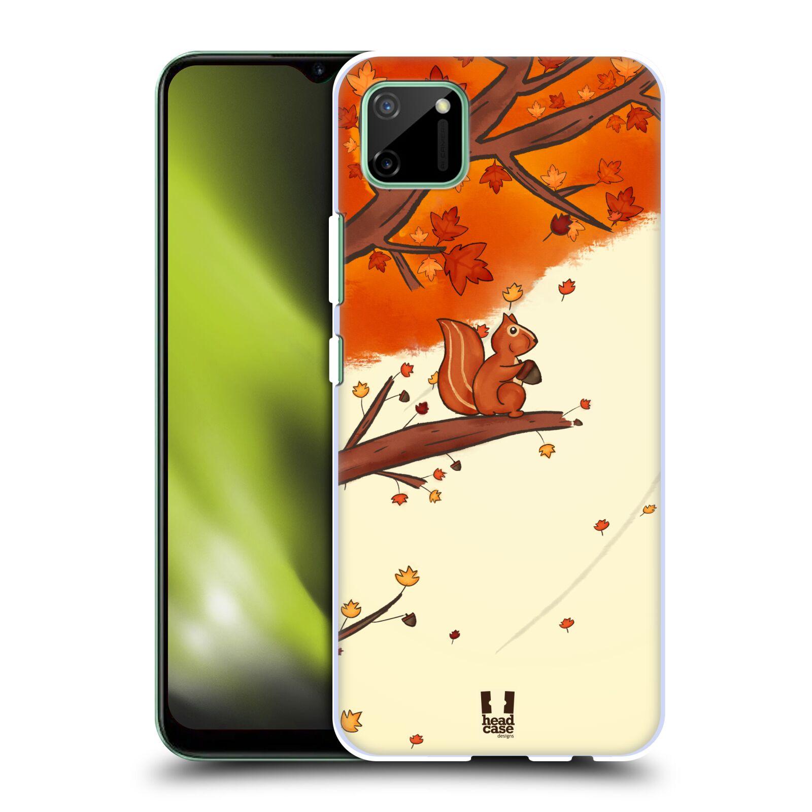 Plastové pouzdro na mobil Realme C11 - Head Case - PODZIMNÍ VEVERKA
