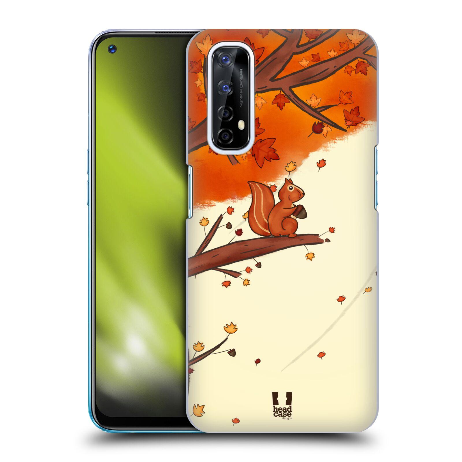 Plastové pouzdro na mobil Realme 7 - Head Case - PODZIMNÍ VEVERKA
