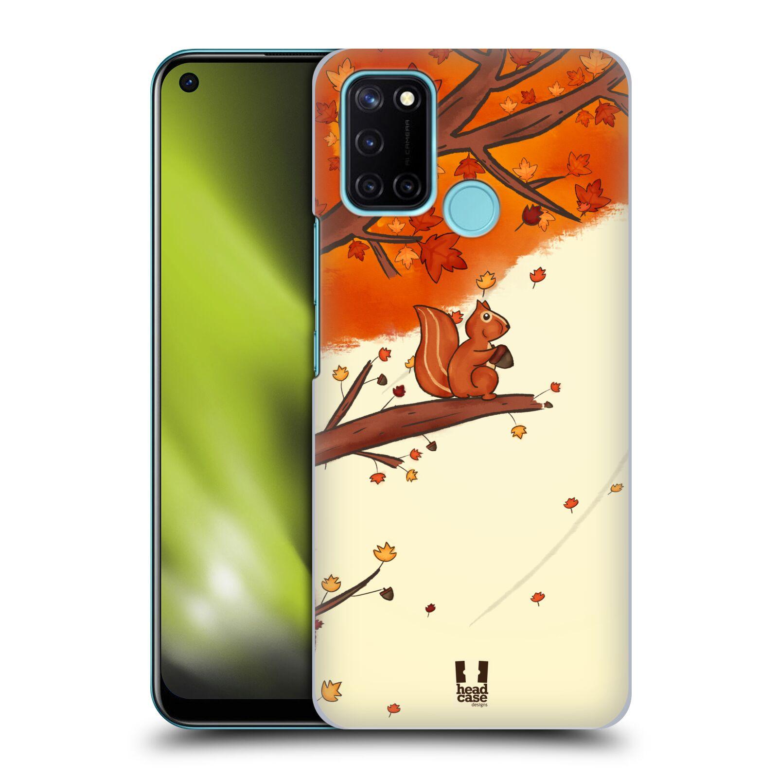 Plastové pouzdro na mobil Realme 7i - Head Case - PODZIMNÍ VEVERKA