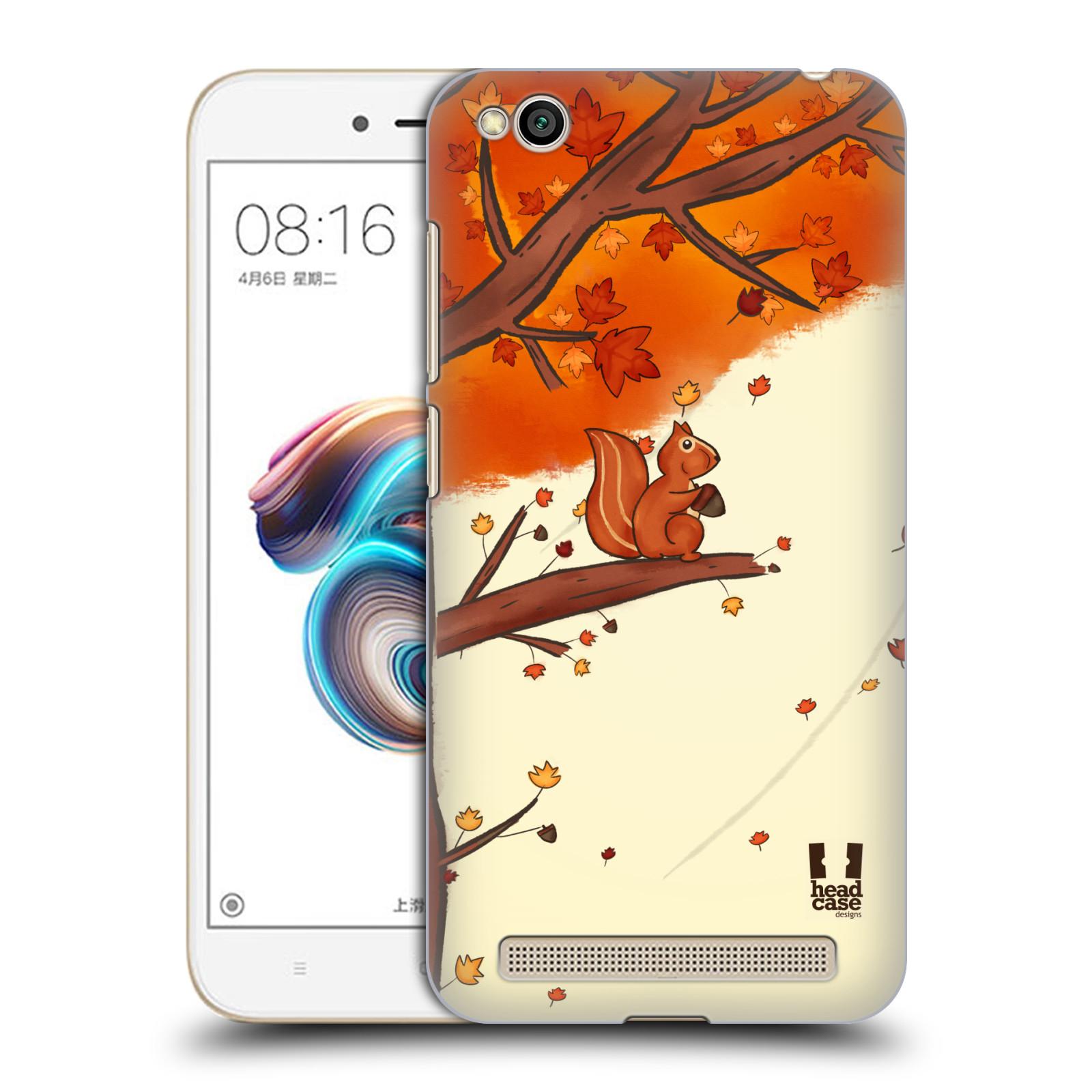 Plastové pouzdro na mobil Xiaomi Redmi 5A - Head Case - PODZIMNÍ VEVERKA