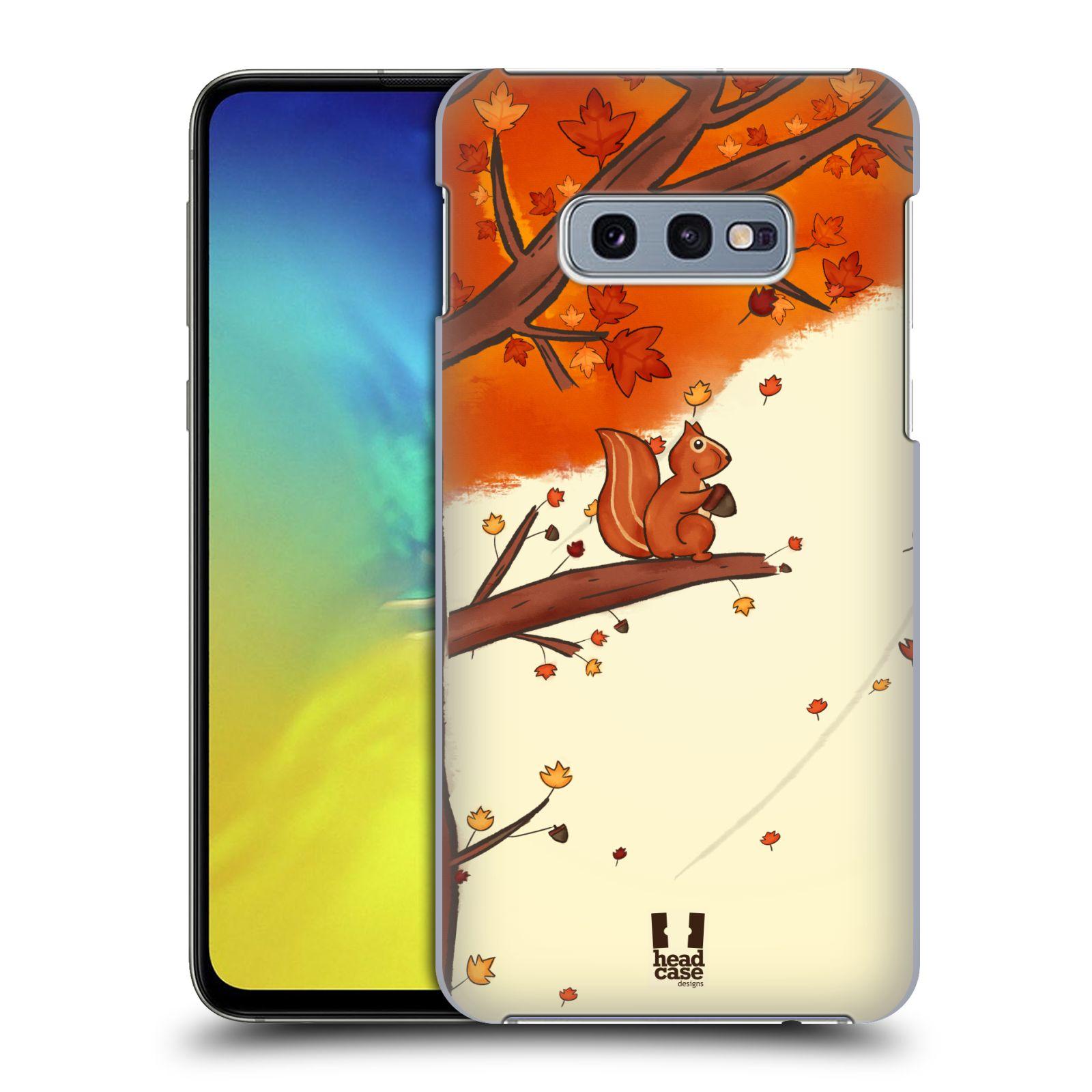 Plastové pouzdro na mobil Samsung Galaxy S10e - Head Case - PODZIMNÍ VEVERKA